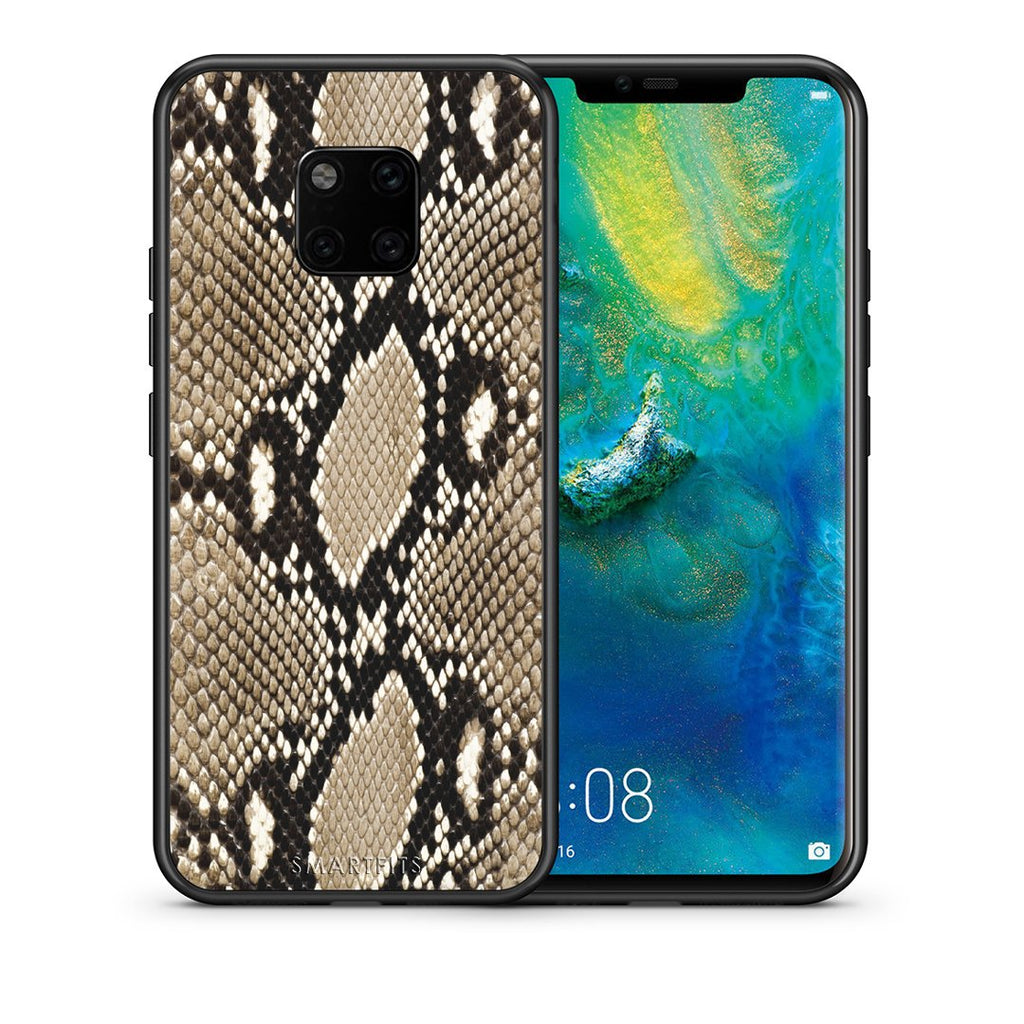 23 - Huawei Mate 20 Pro  Fashion Snake Animal case, cover, bumper