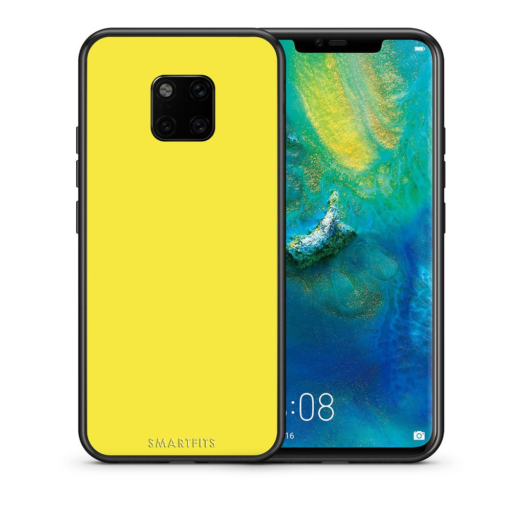 94 - Huawei Mate 20 Pro  Yellow Color case, cover, bumper