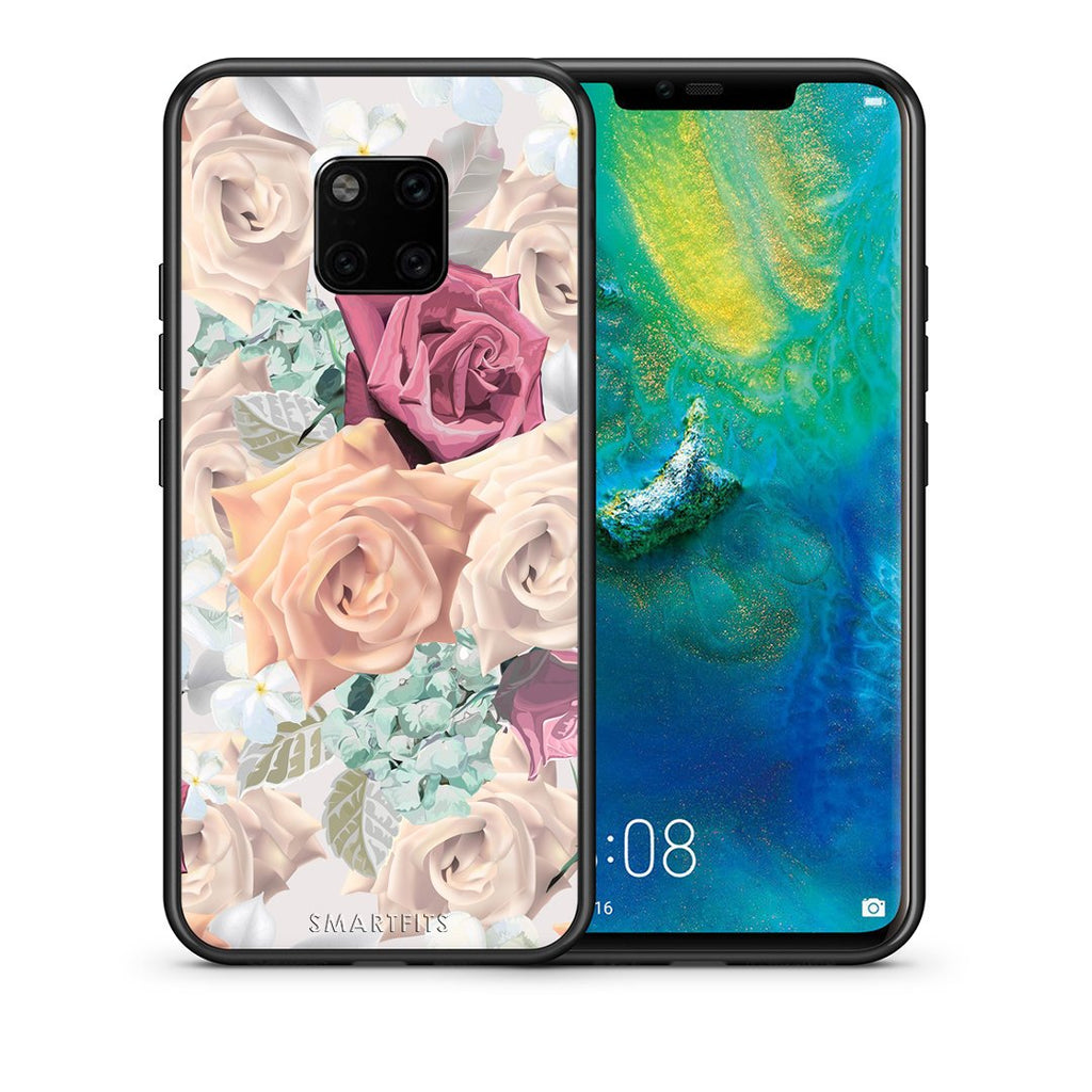 99 - Huawei Mate 20 Pro  Bouquet Floral case, cover, bumper