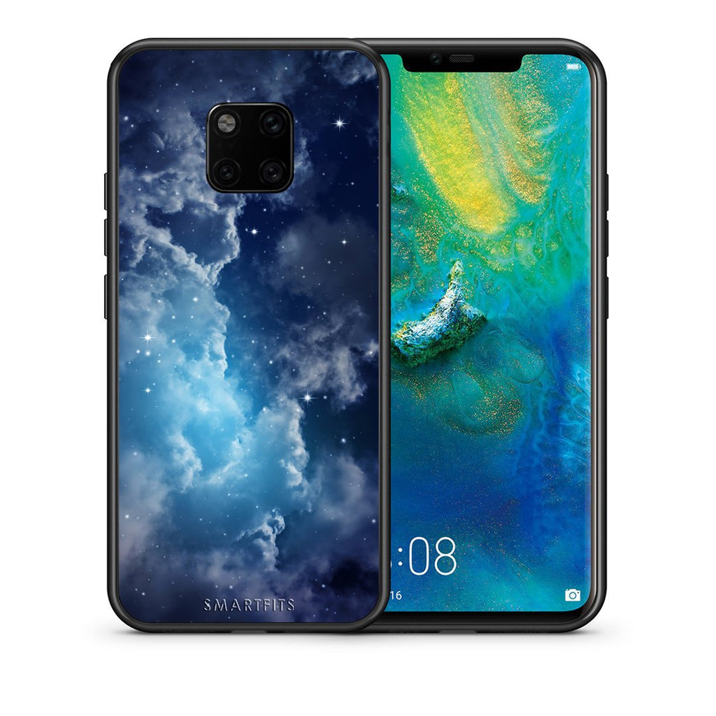 104 - Huawei Mate 20 Pro  Blue Sky Galaxy case, cover, bumper