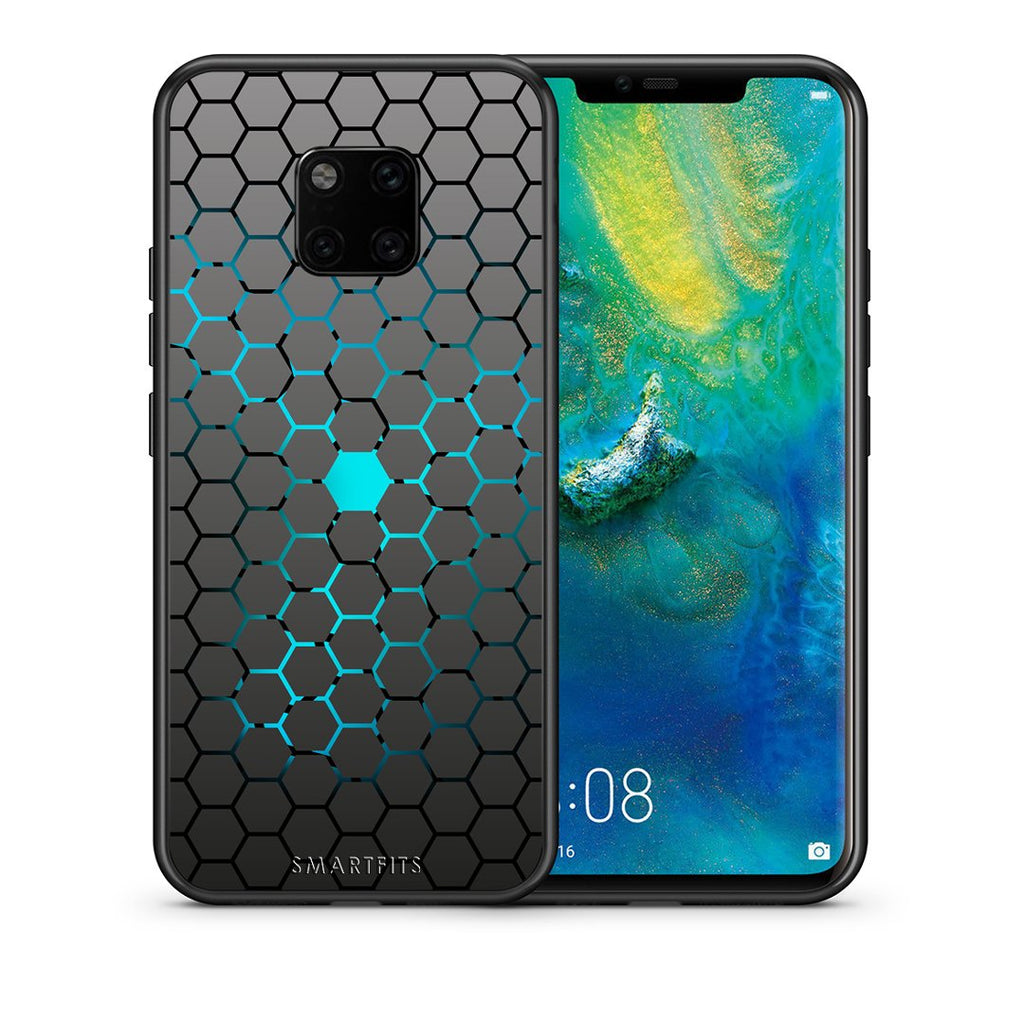 40 - Huawei Mate 20 Pro  Hexagonal Geometric case, cover, bumper