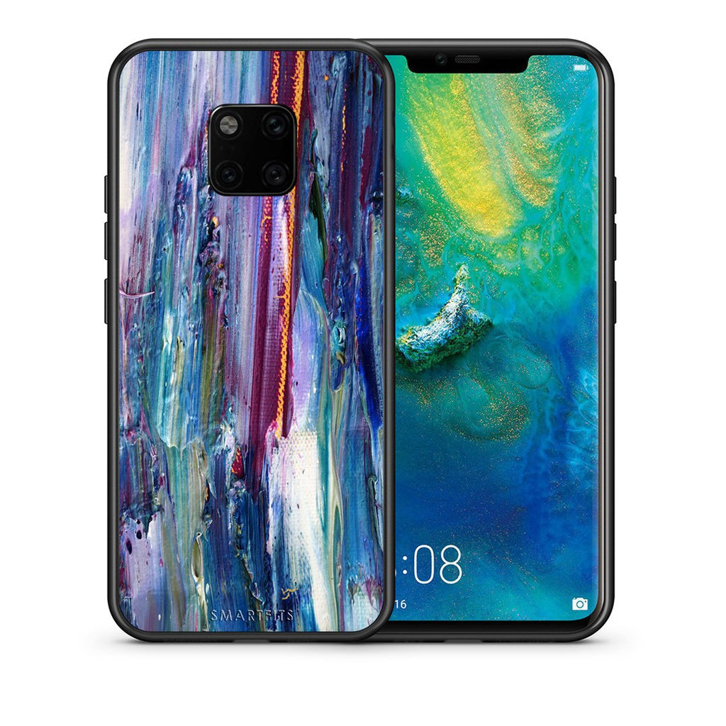 99 - Huawei Mate 20 Pro  Paint Winter case, cover, bumper