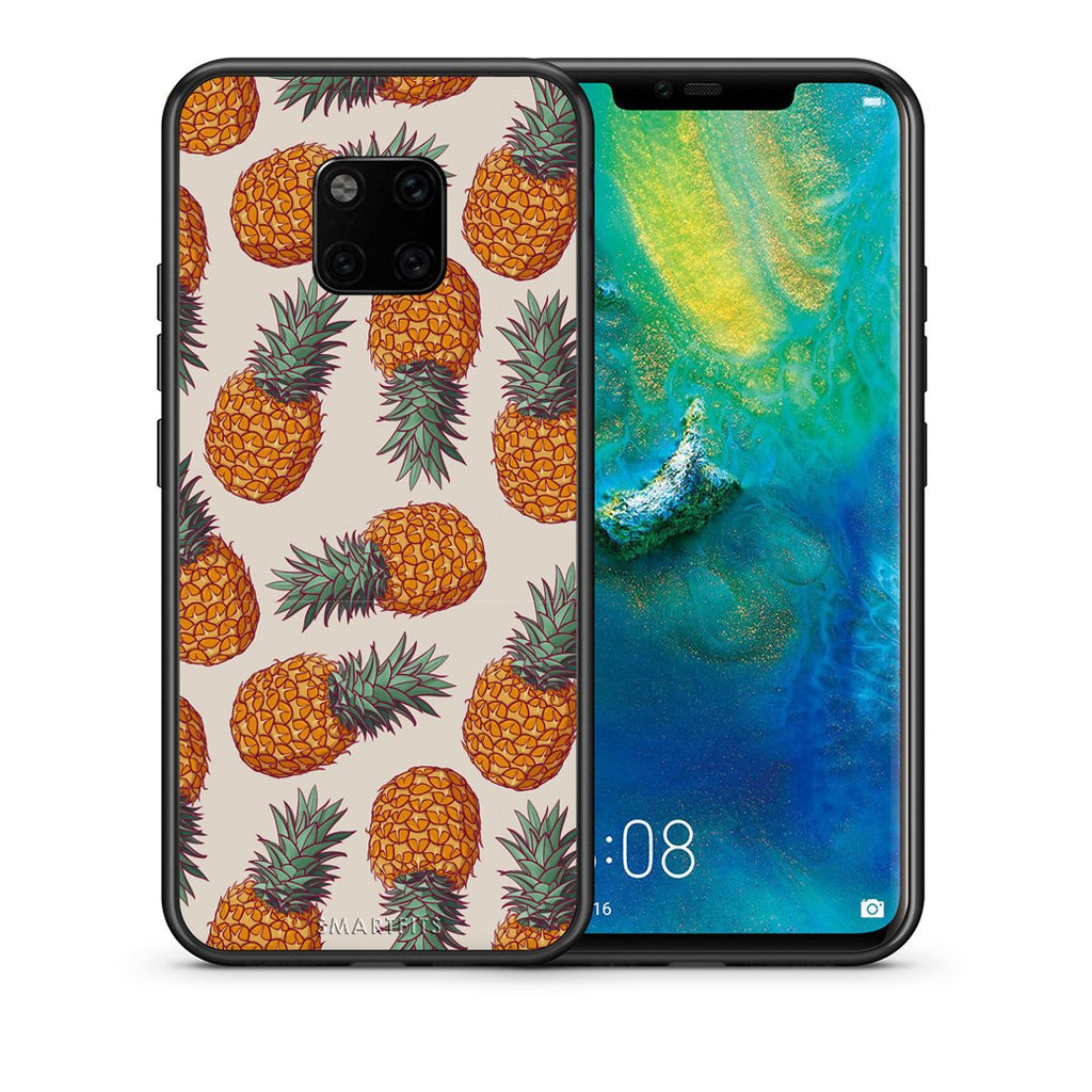 99 - Huawei Mate 20 Pro  Summer Real Pineapples case, cover, bumper