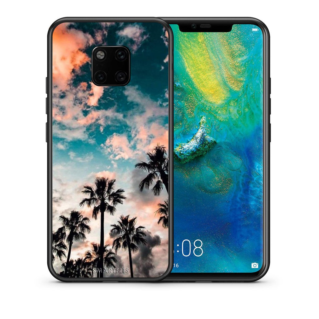 99 - Huawei Mate 20 Pro  Summer Sky case, cover, bumper