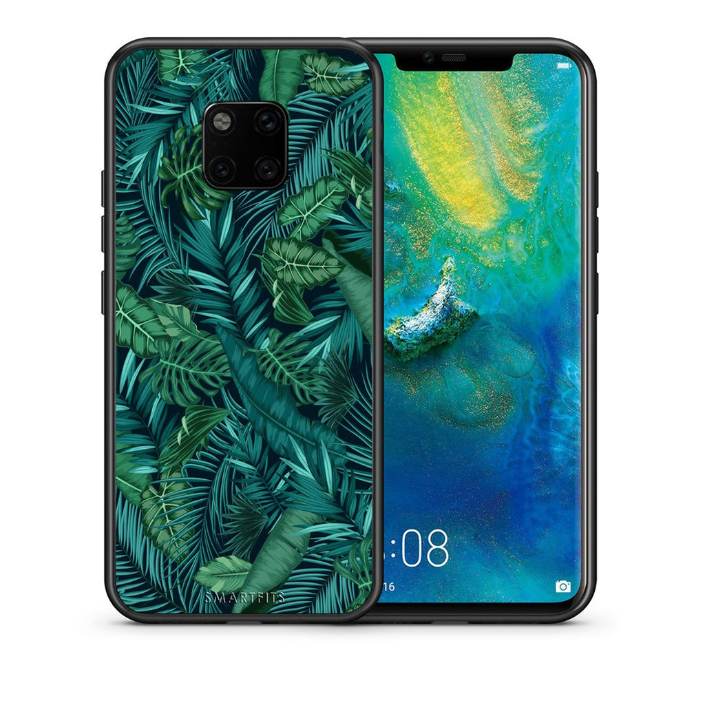99 - Huawei Mate 20 Pro  Tropic Leaves case, cover, bumper