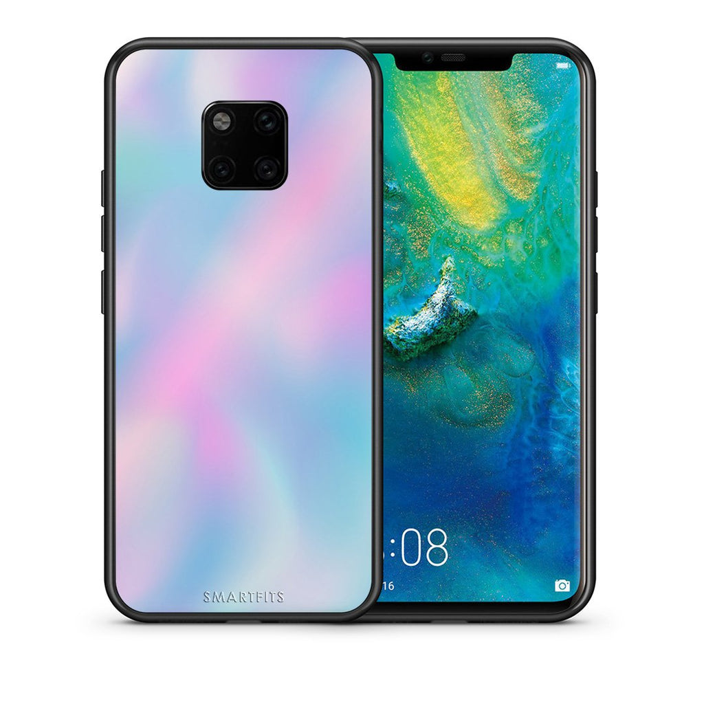 99 - Huawei Mate 20 Pro  Watercolor Rainbow case, cover, bumper