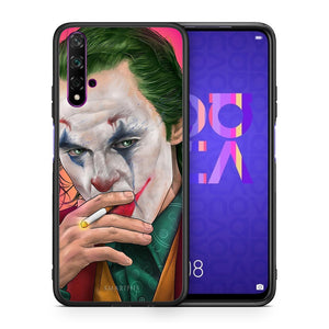 Θήκη Huawei Nova 5T/Honor 20 JokesOnU PopArt από τη Smartfits με σχέδιο στο πίσω μέρος και μαύρο περίβλημα | Huawei Nova 5T/Honor 20 JokesOnU PopArt case with colorful back and black bezels