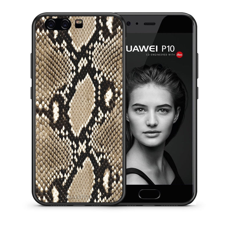 23 - huawei p10 Fashion Snake Animal case, cover, bumper