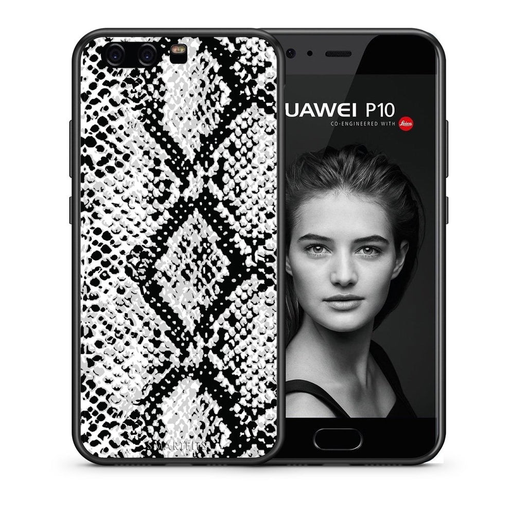 24 - huawei p10 White Snake Animal case, cover, bumper
