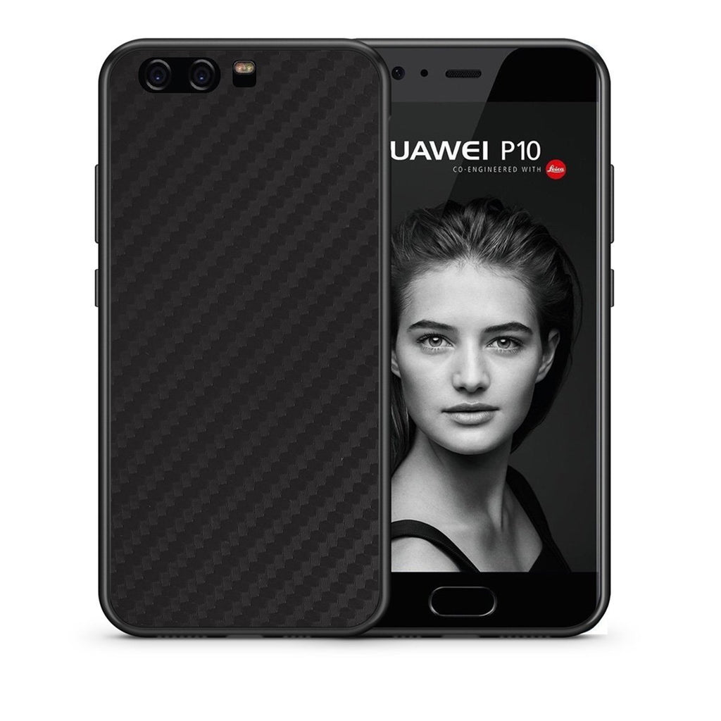 0 - huawei p10 Black Carbon case, cover, bumper