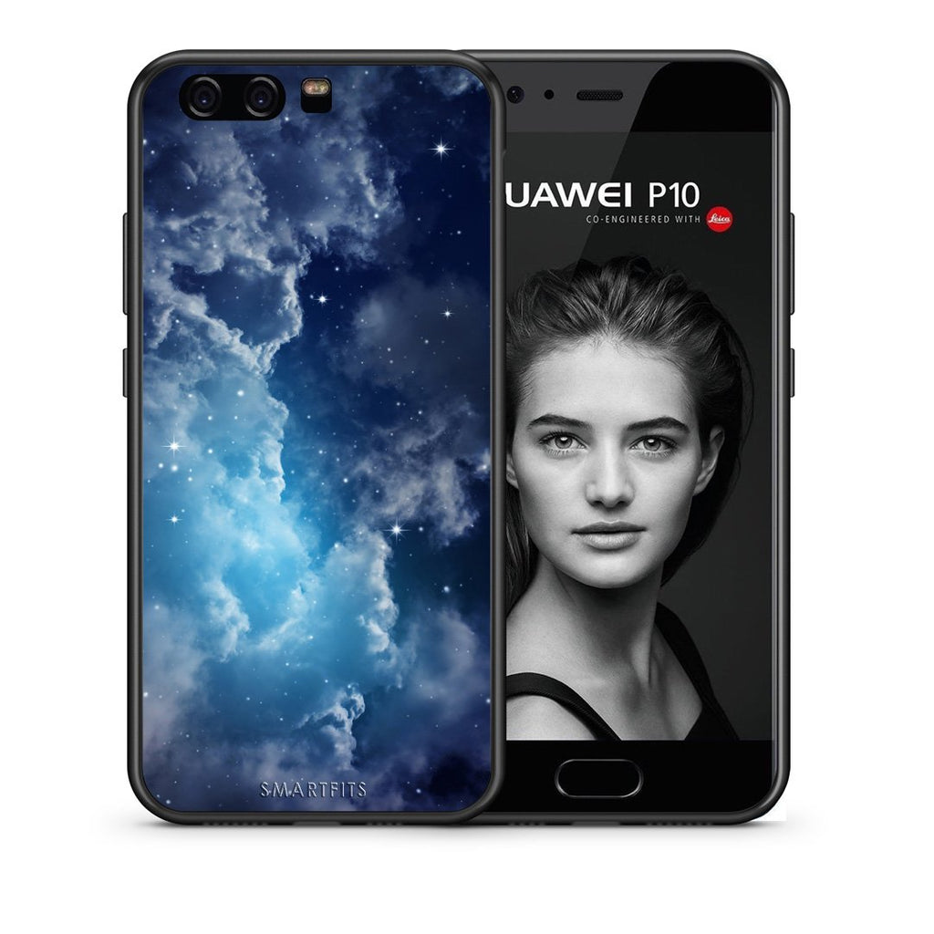 104 - huawei p10 Blue Sky Galaxy case, cover, bumper