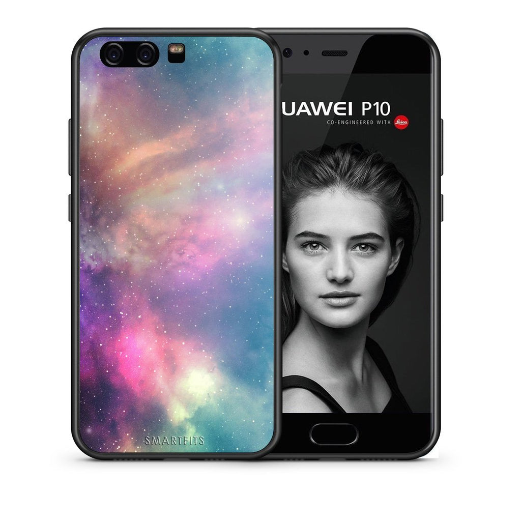 105 - huawei p10 Rainbow Galaxy case, cover, bumper