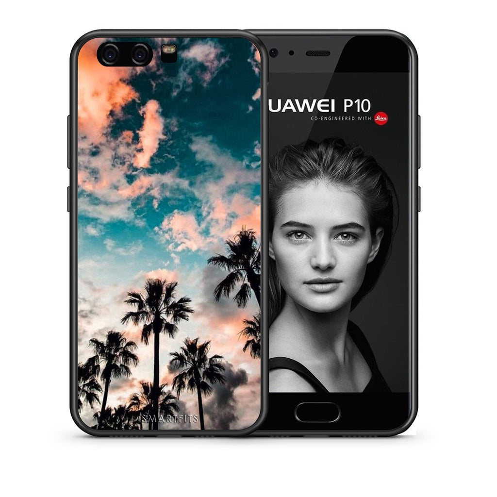 99 - huawei p10 Summer Sky case, cover, bumper