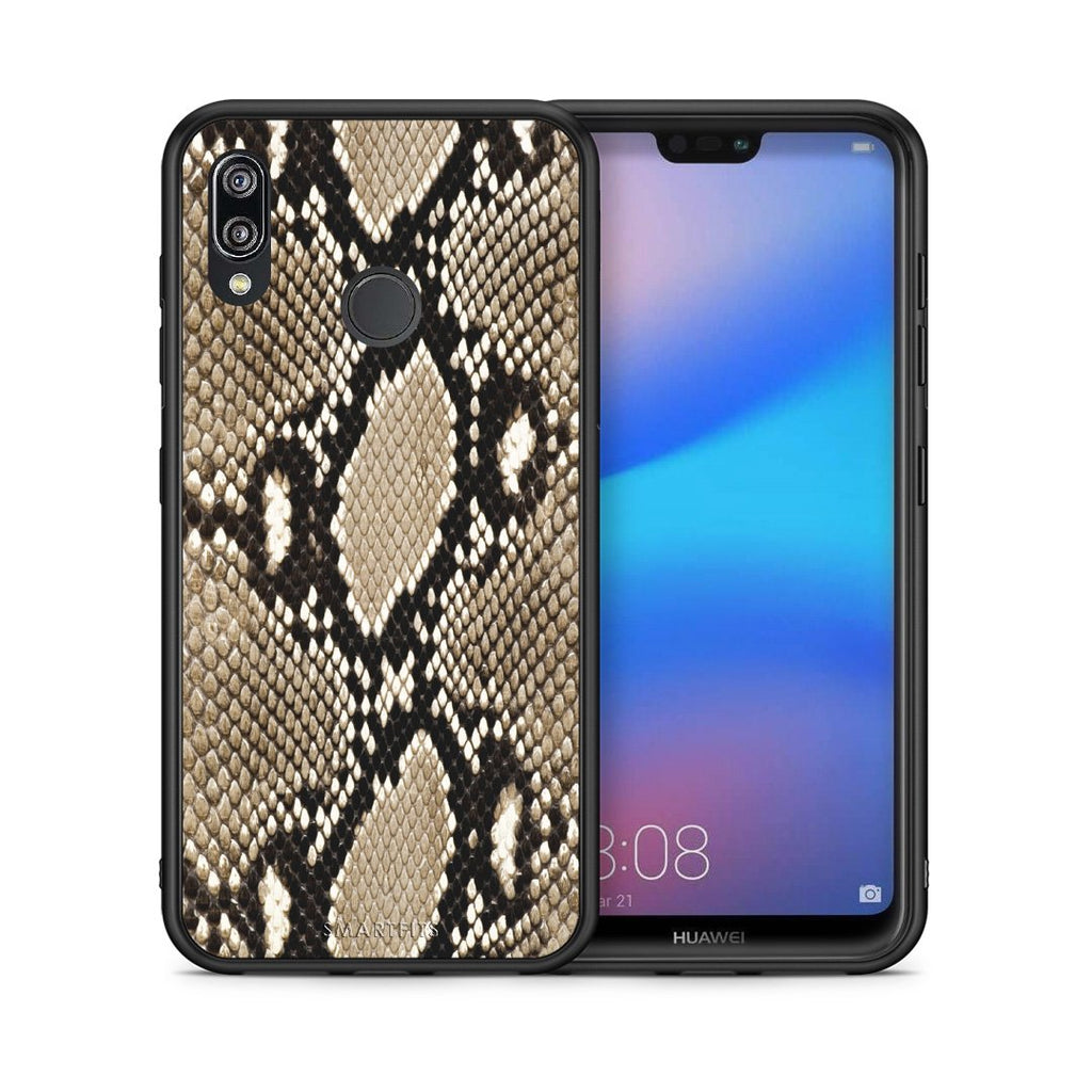 23 - Huawei P20 Lite Fashion Snake Animal case, cover, bumper