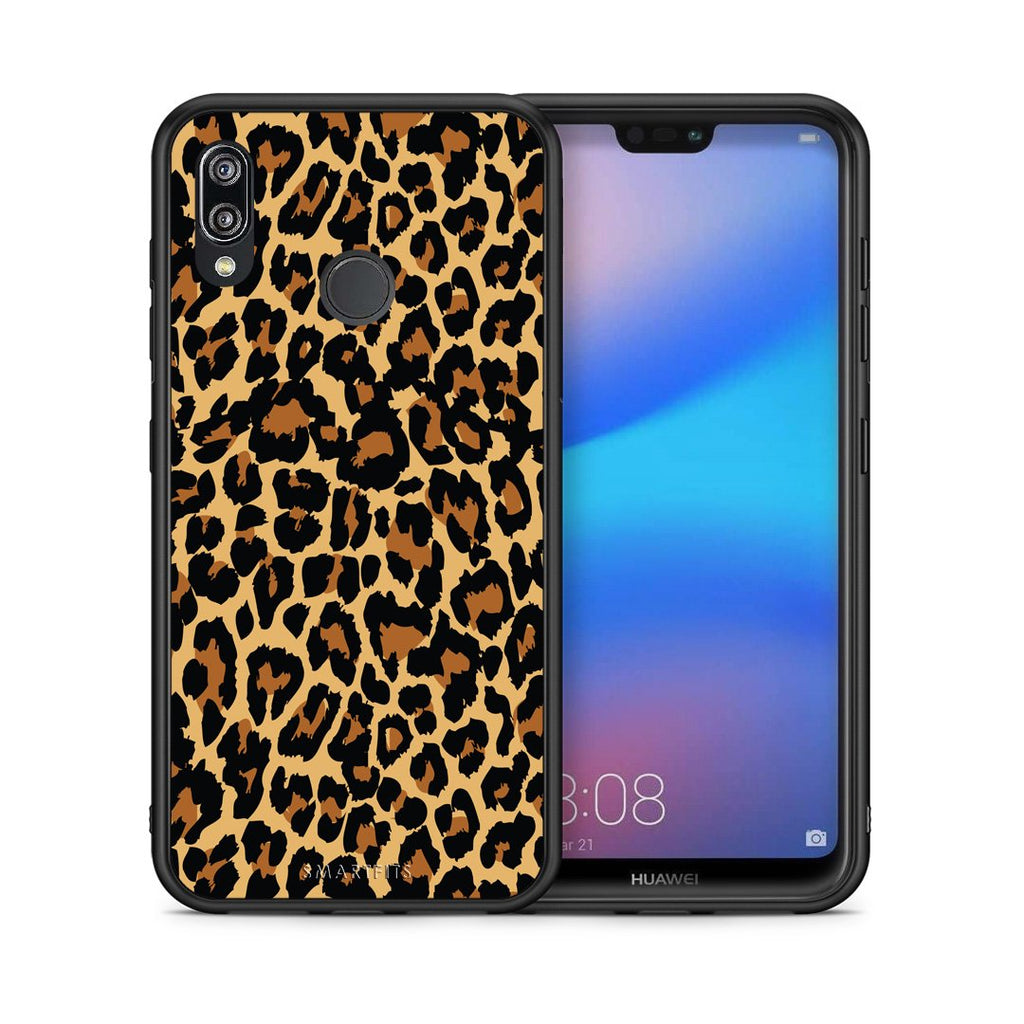 21 - Huawei P20 Lite Leopard Animal case, cover, bumper