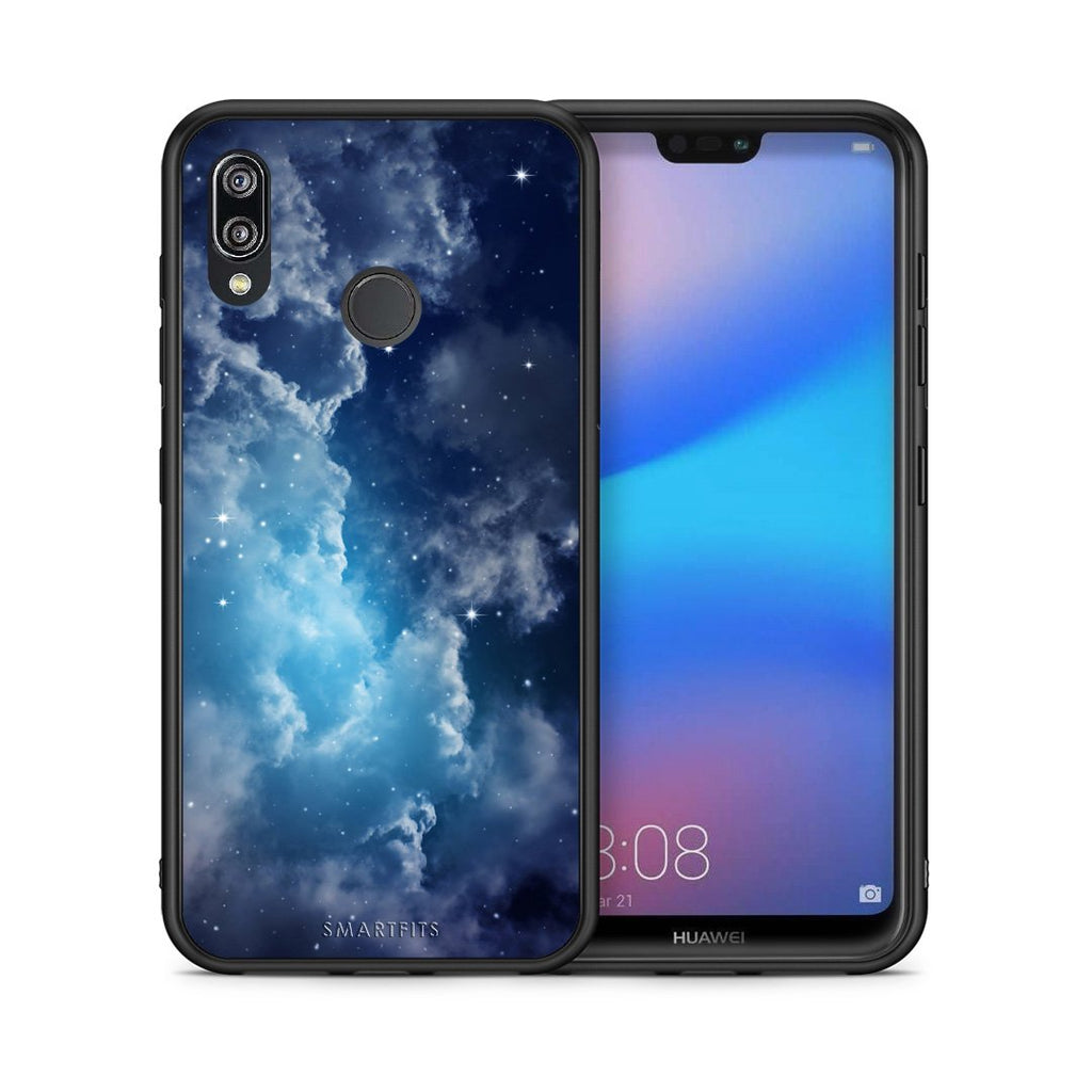 104 - Huawei P20 Lite Blue Sky Galaxy case, cover, bumper