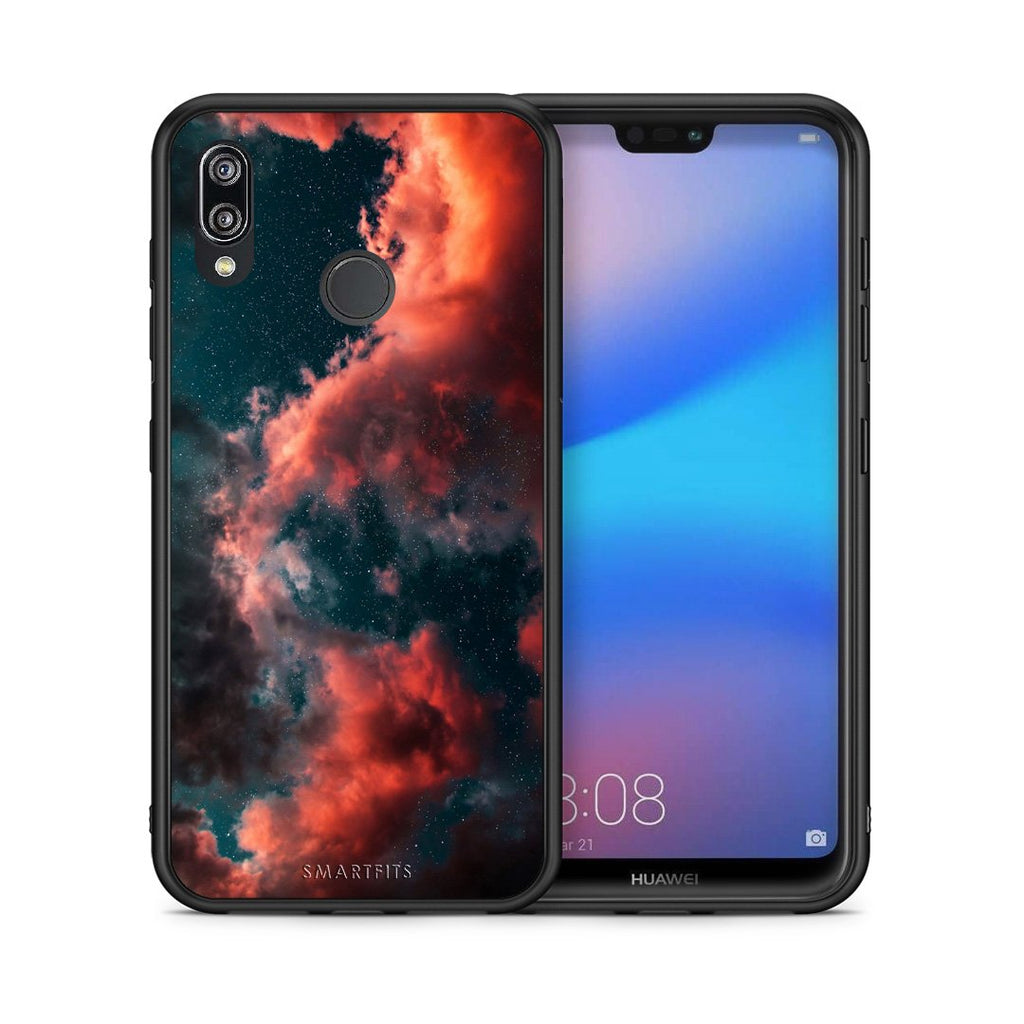 4 - Huawei P20 Lite Cloud Galaxy case, cover, bumper