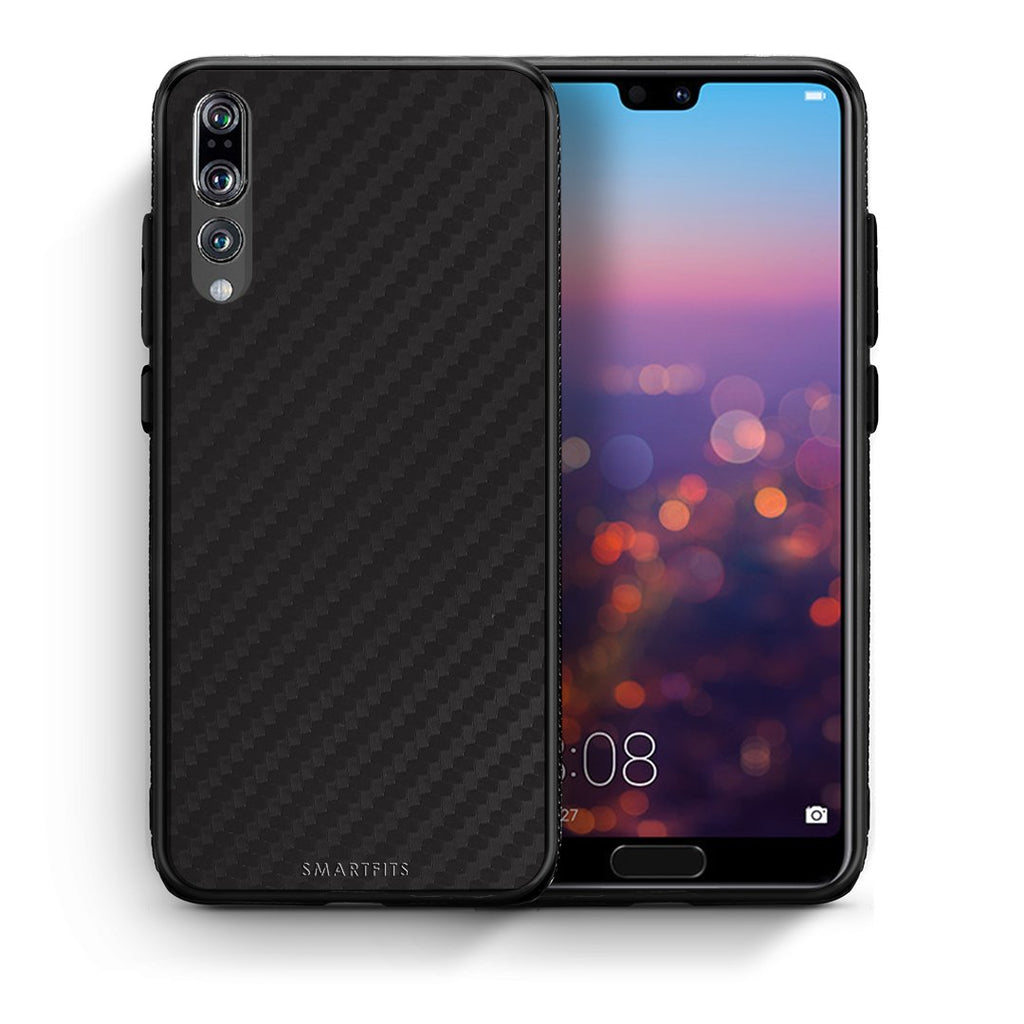 0 - Huawei P20 Pro Black Carbon case, cover, bumper