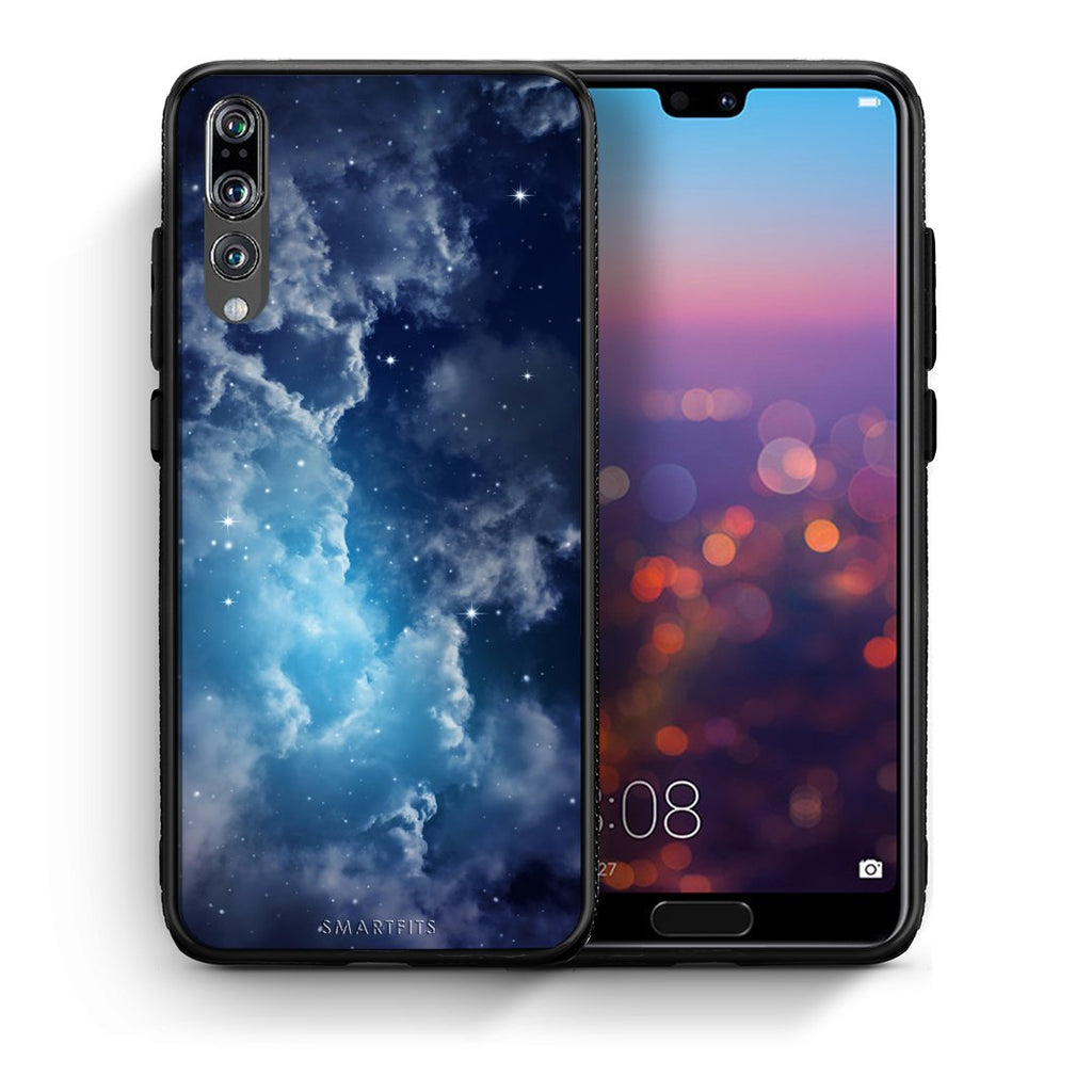 104 - huawei p20 pro Blue Sky Galaxy case, cover, bumper