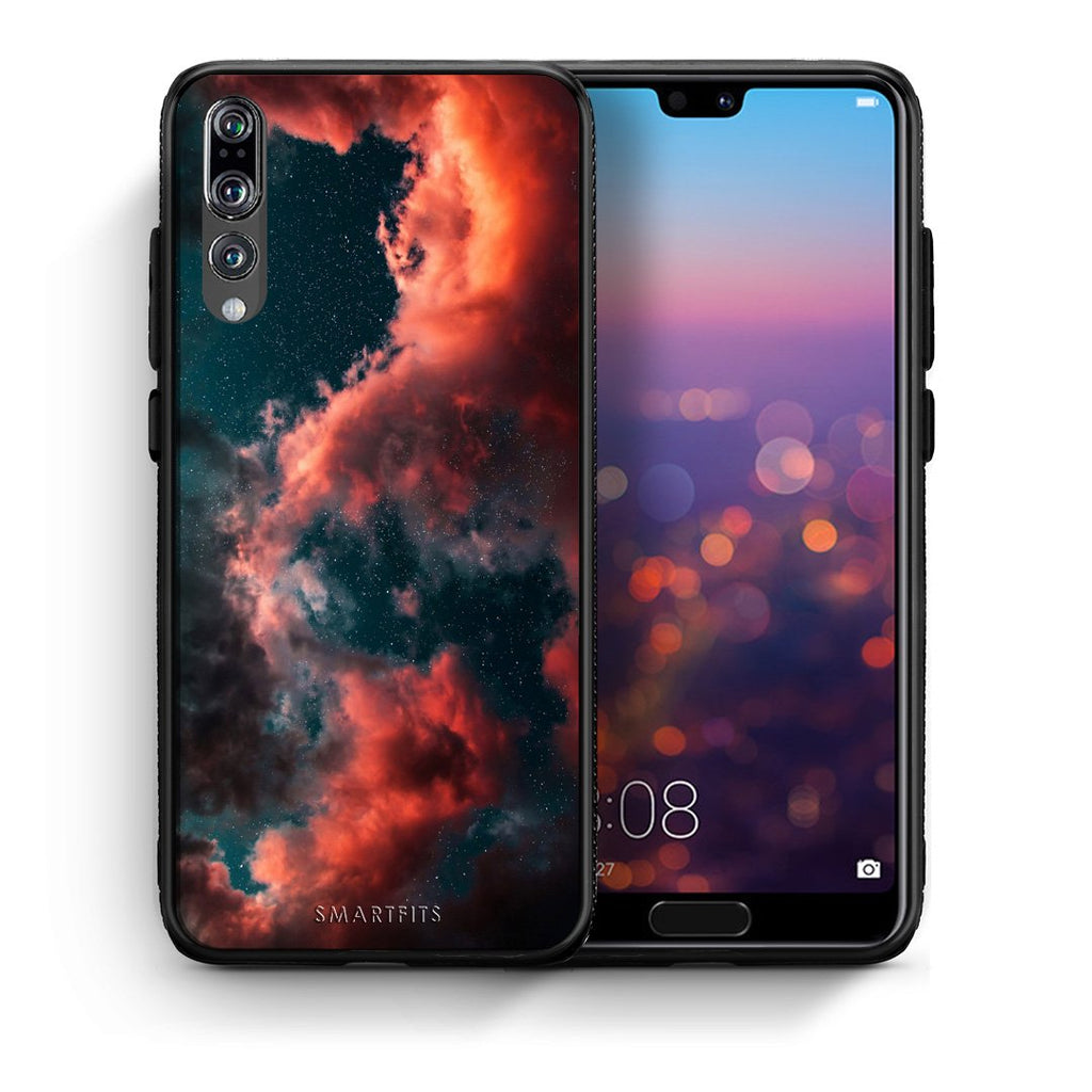 4 - huawei p20 pro Cloud Galaxy case, cover, bumper