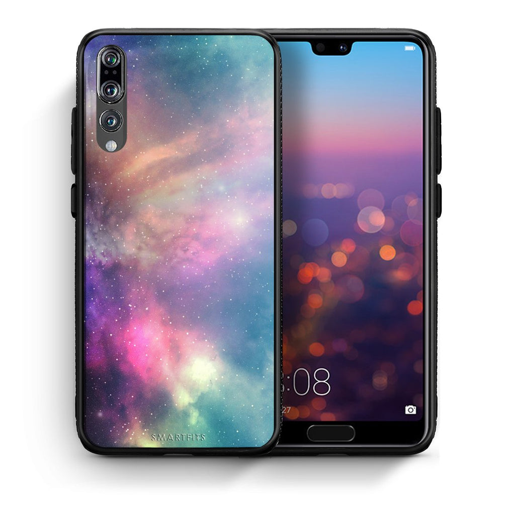 105 - huawei p20 pro Rainbow Galaxy case, cover, bumper