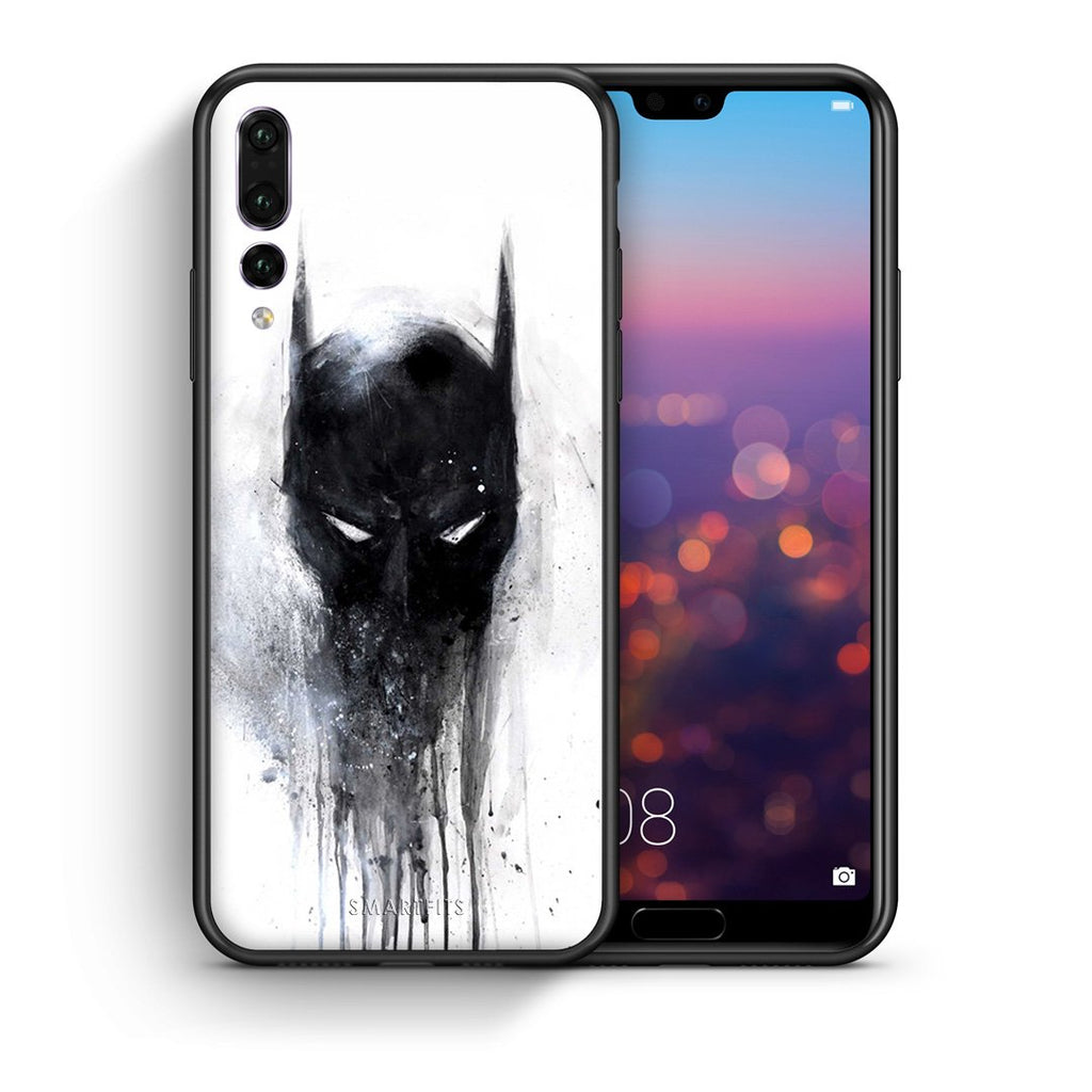 4 - huawei p20 pro Paint Bat Hero case, cover, bumper