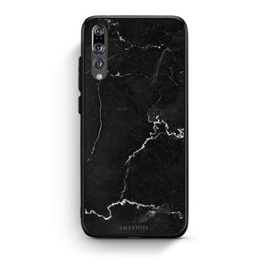 1 - huawei p20 pro black marble case, cover, bumper