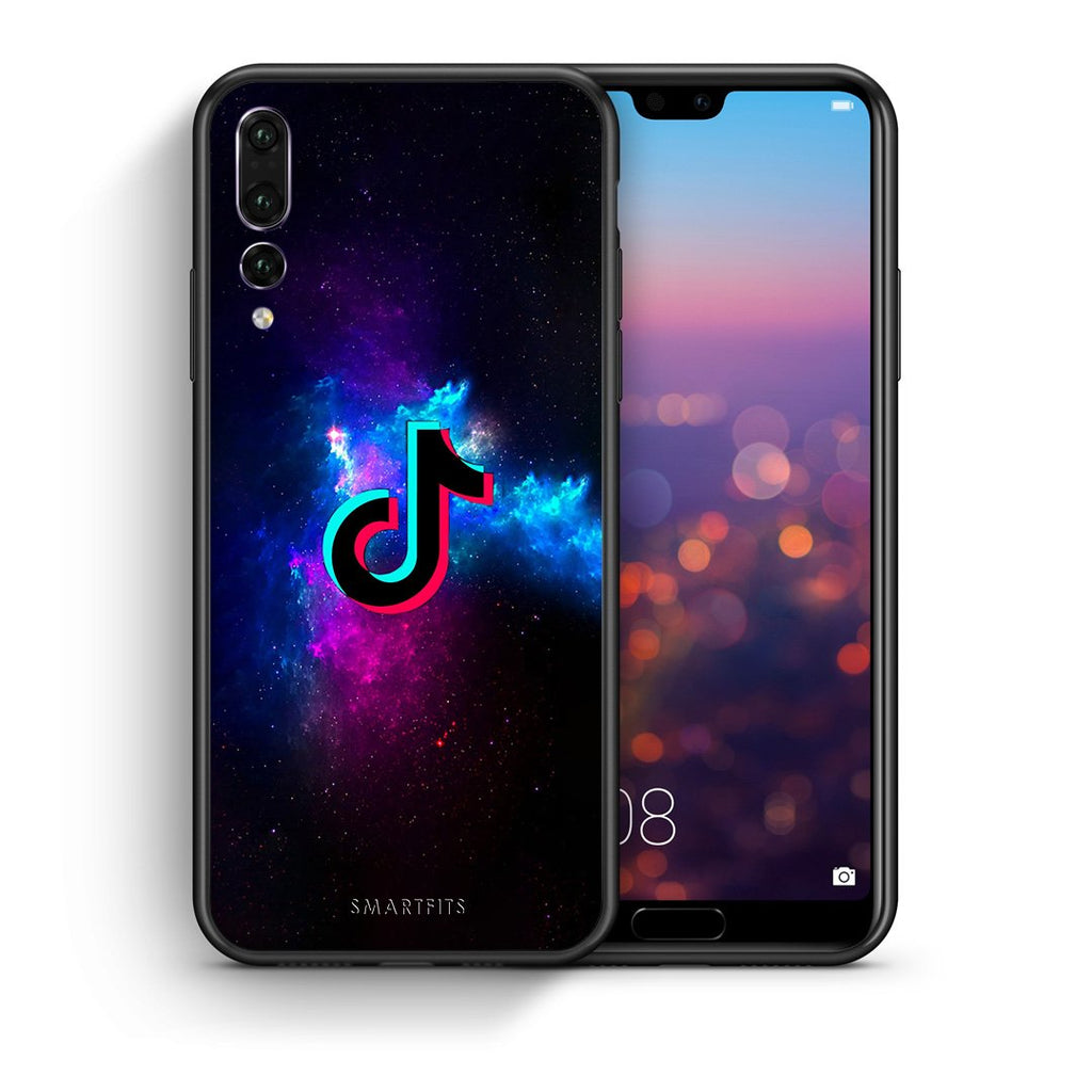 4 - huawei p20 pro TikTok Text case, cover, bumper