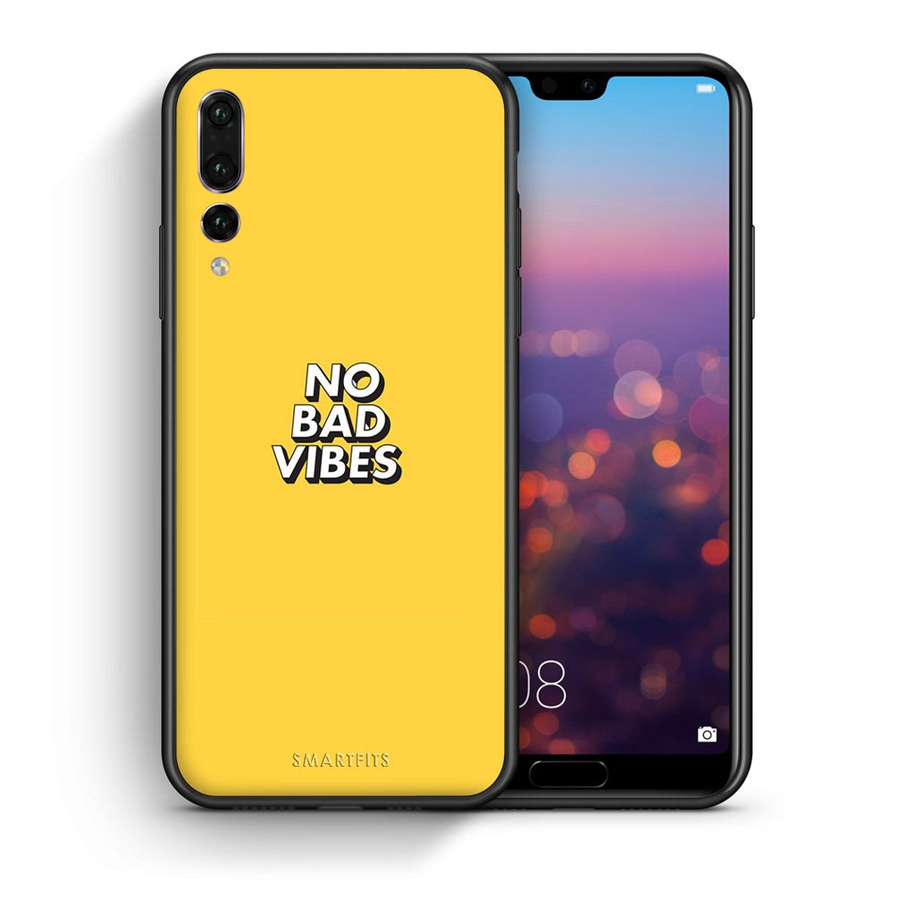 4 - huawei p20 pro Vibes Text case, cover, bumper
