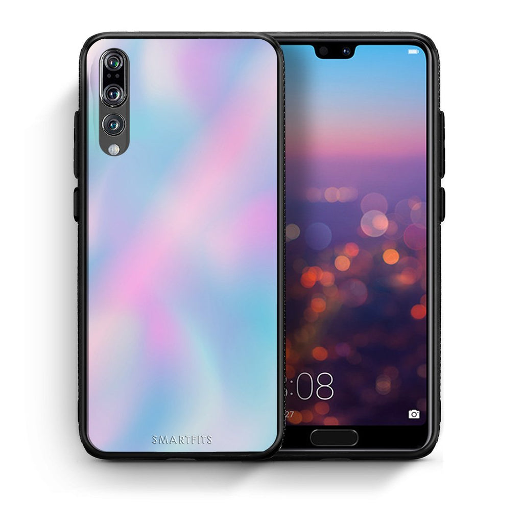 99 - huawei p20 pro Watercolor Rainbow case, cover, bumper