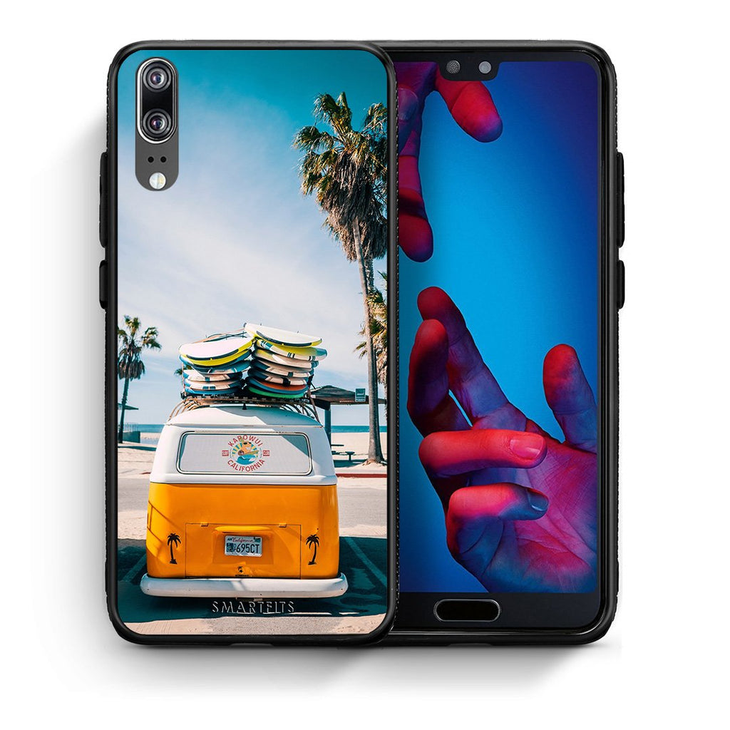 4 - Huawei P20 Travel Summer case, cover, bumper