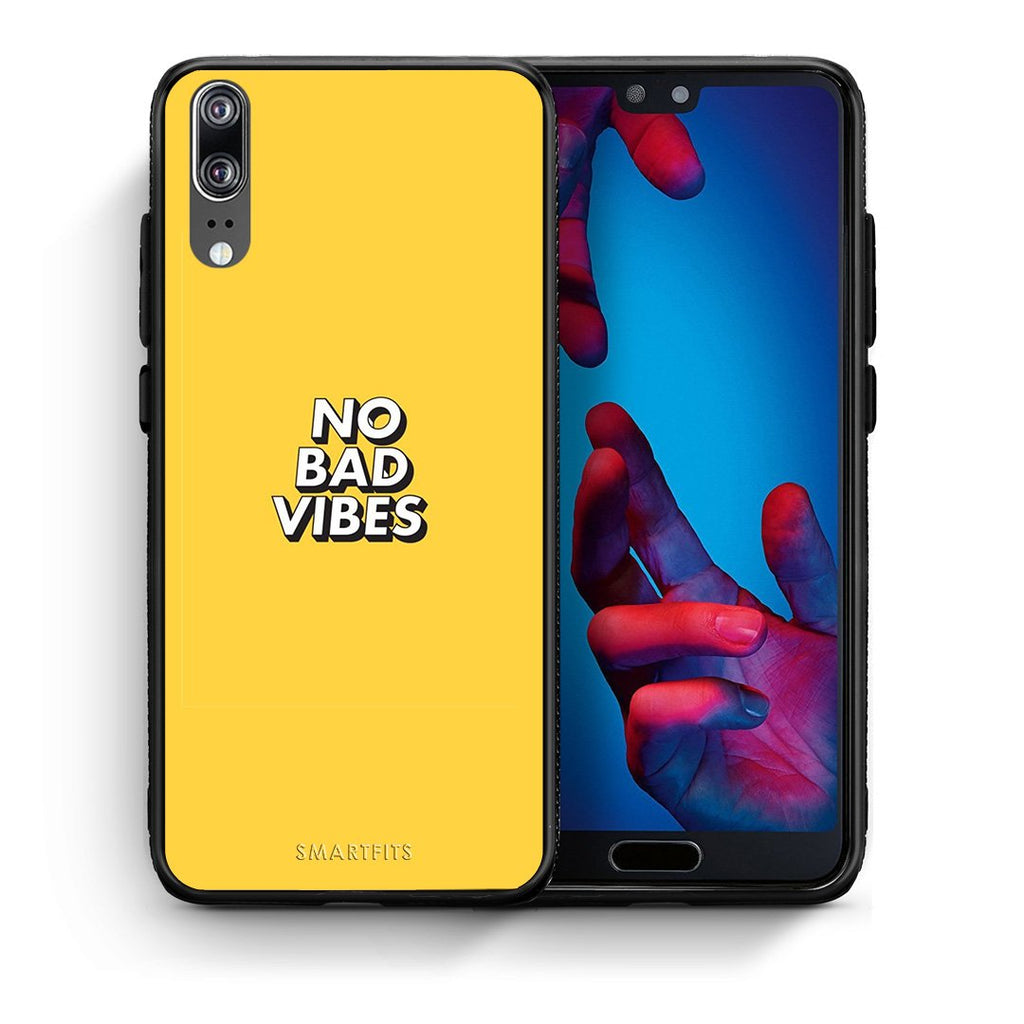 4 - Huawei P20 Vibes Text case, cover, bumper