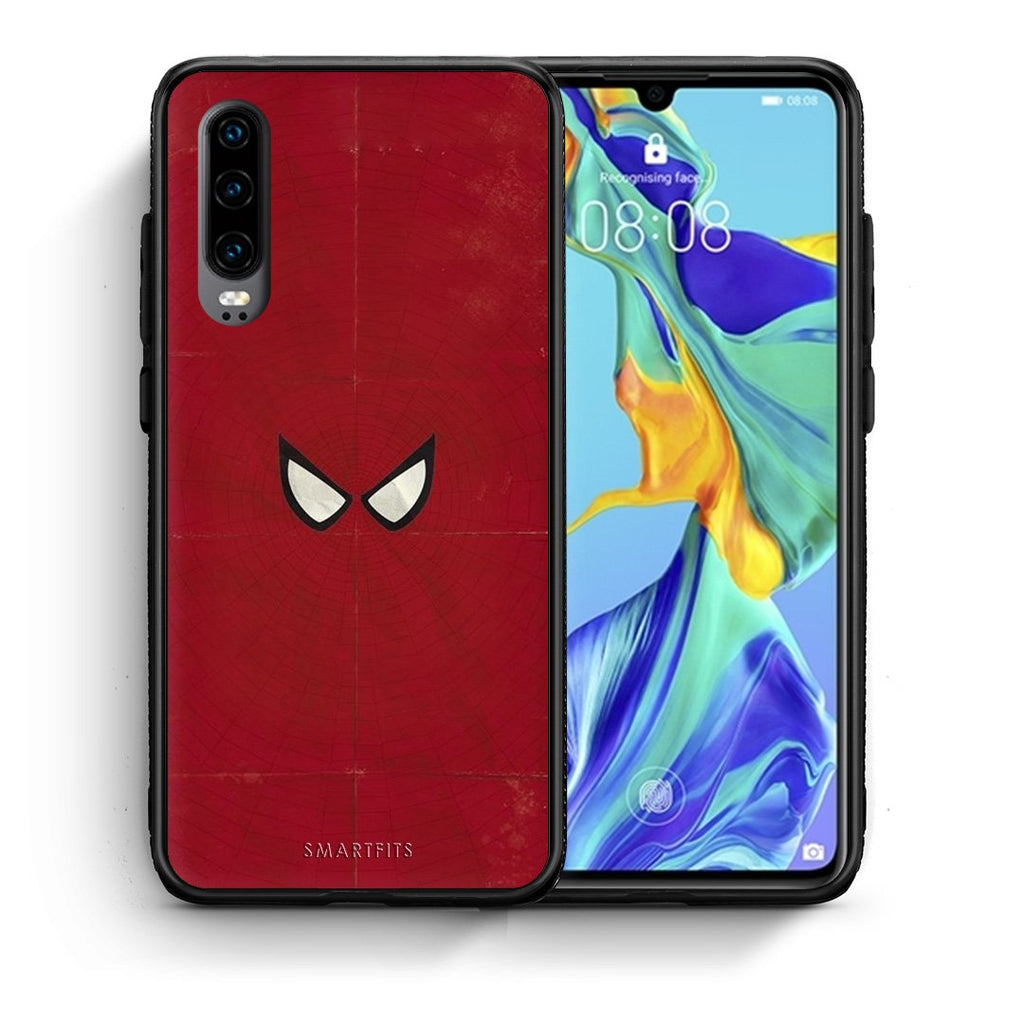 4 - Huawei P30 Spider Eyes Hero case, cover, bumper