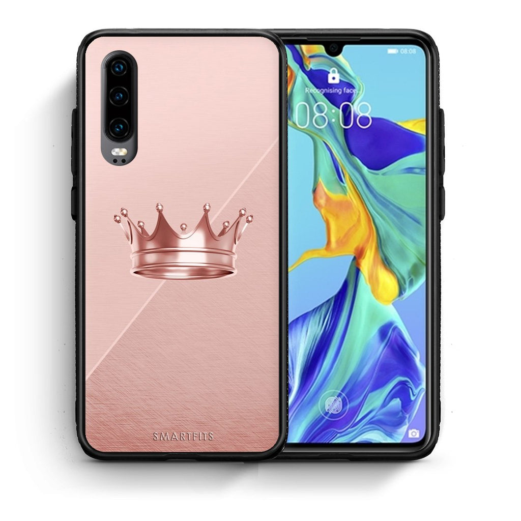 4 - Huawei P30 Crown Minimal case, cover, bumper