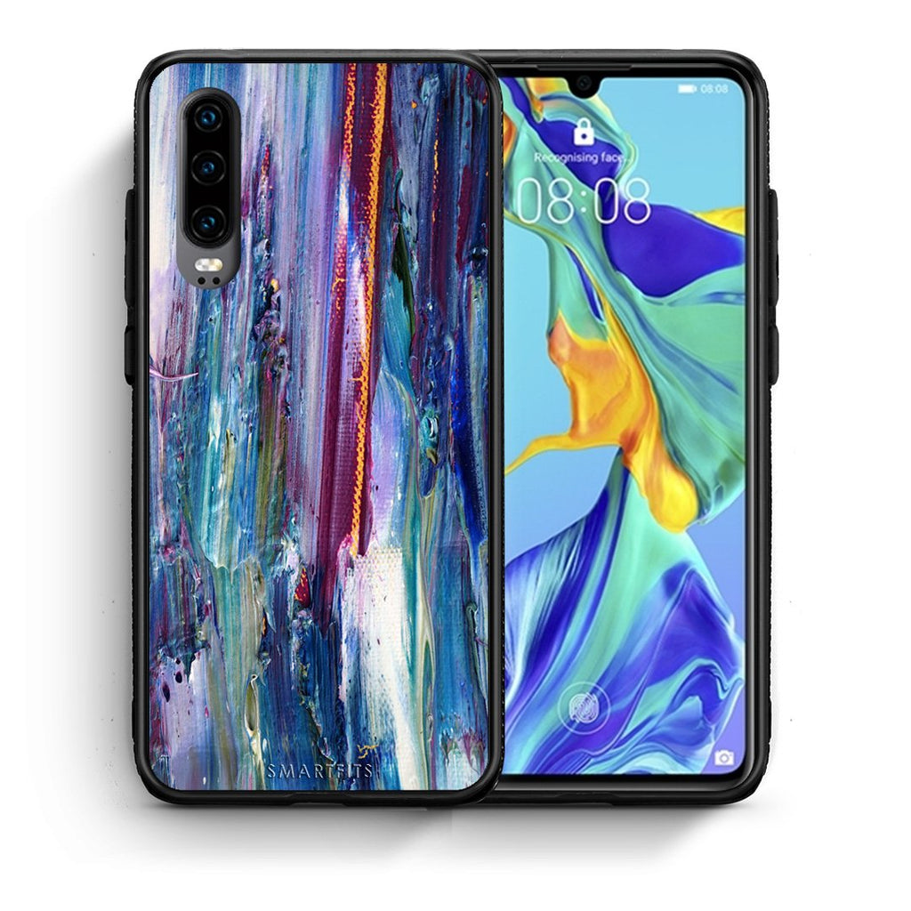 99 - Huawei P30  Paint Winter case, cover, bumper