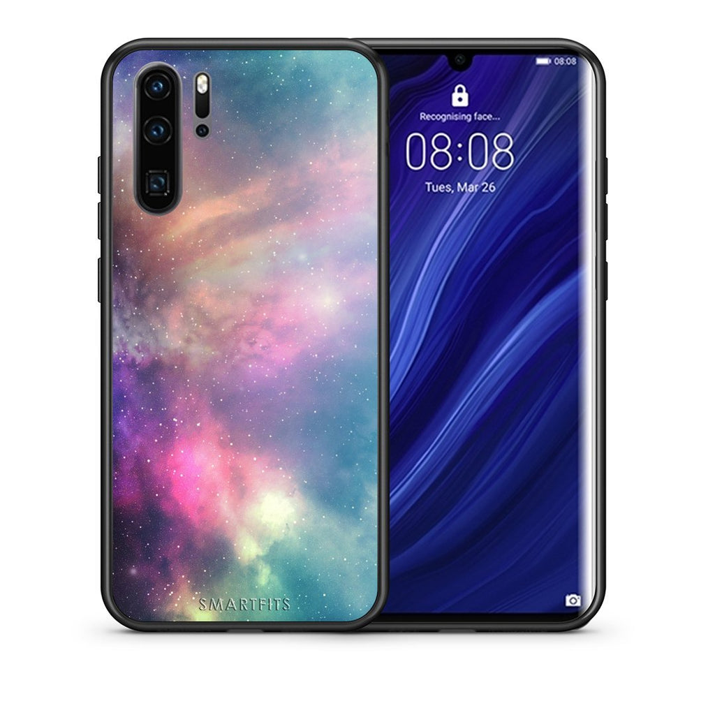105 - Huawei P30 Pro  Rainbow Galaxy case, cover, bumper