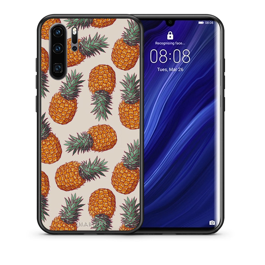 99 - Huawei P30 Pro  Summer Real Pineapples case, cover, bumper