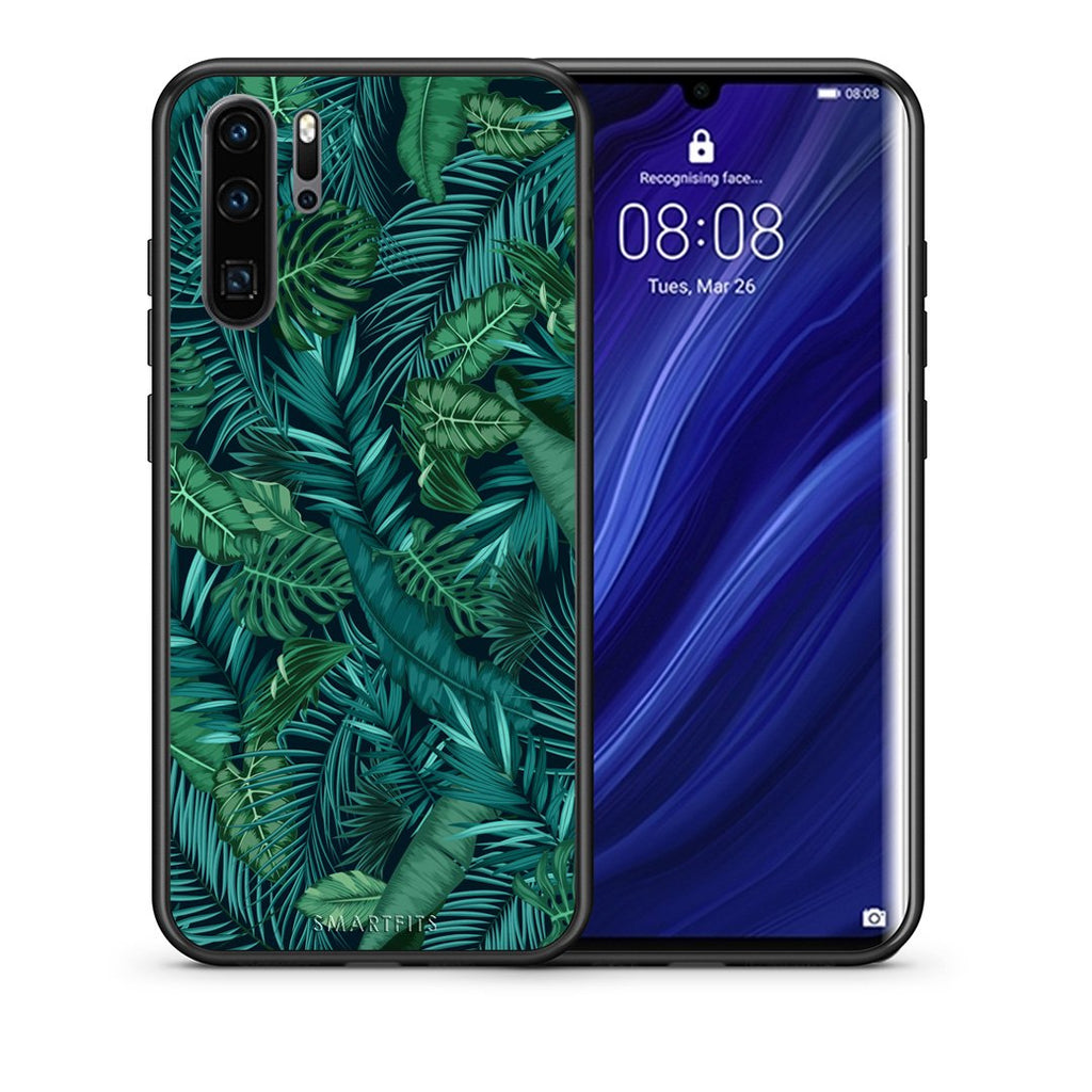 99 - Huawei P30 Pro  Tropic Leaves case, cover, bumper