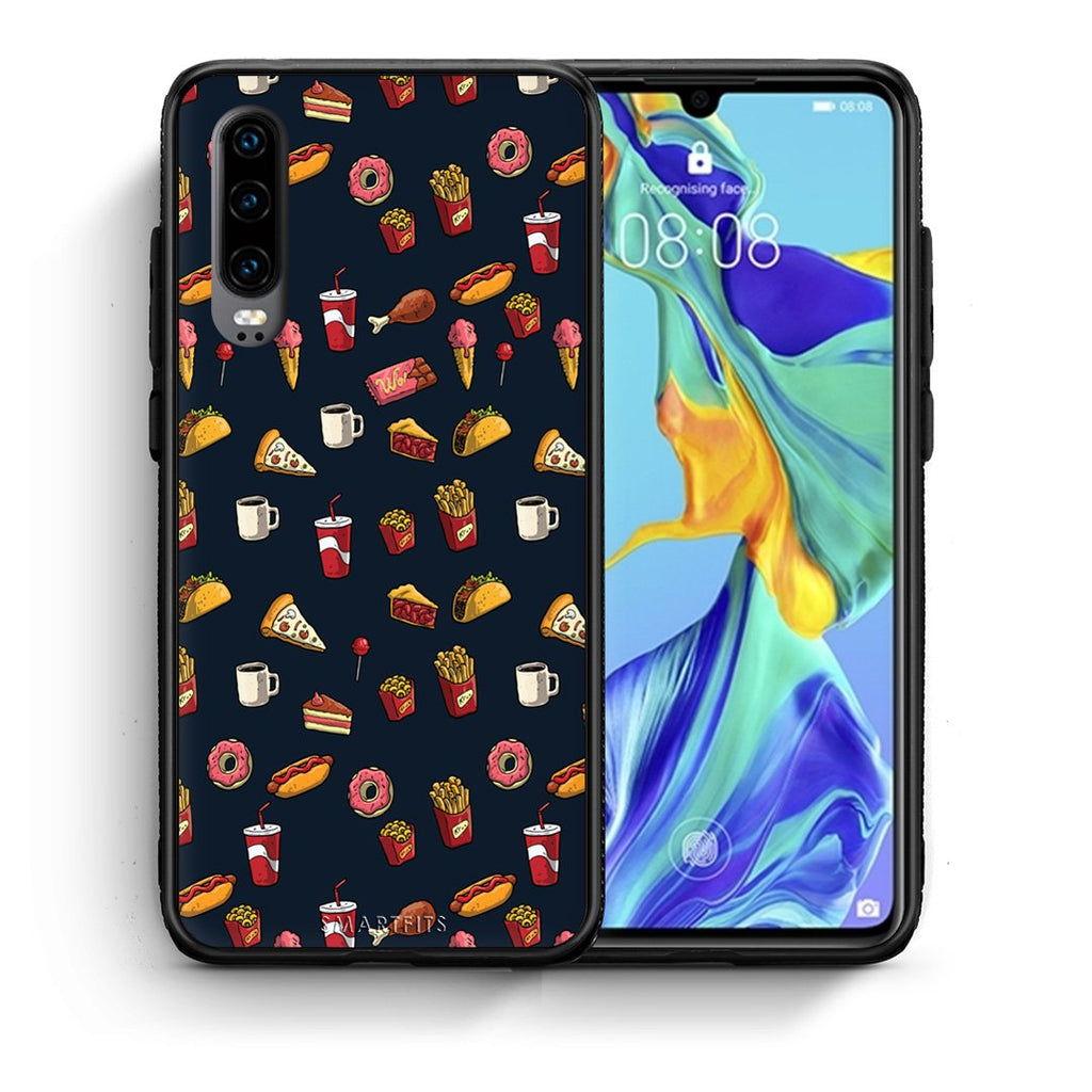 118 - Huawei P30  Hungry Random case, cover, bumper
