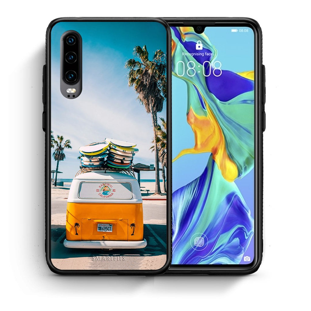 4 - Huawei P30 Travel Summer case, cover, bumper