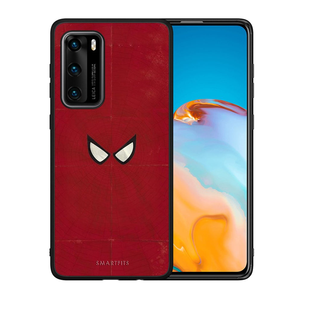4 - Huawei P40 Spider Eyes Hero case, cover, bumper
