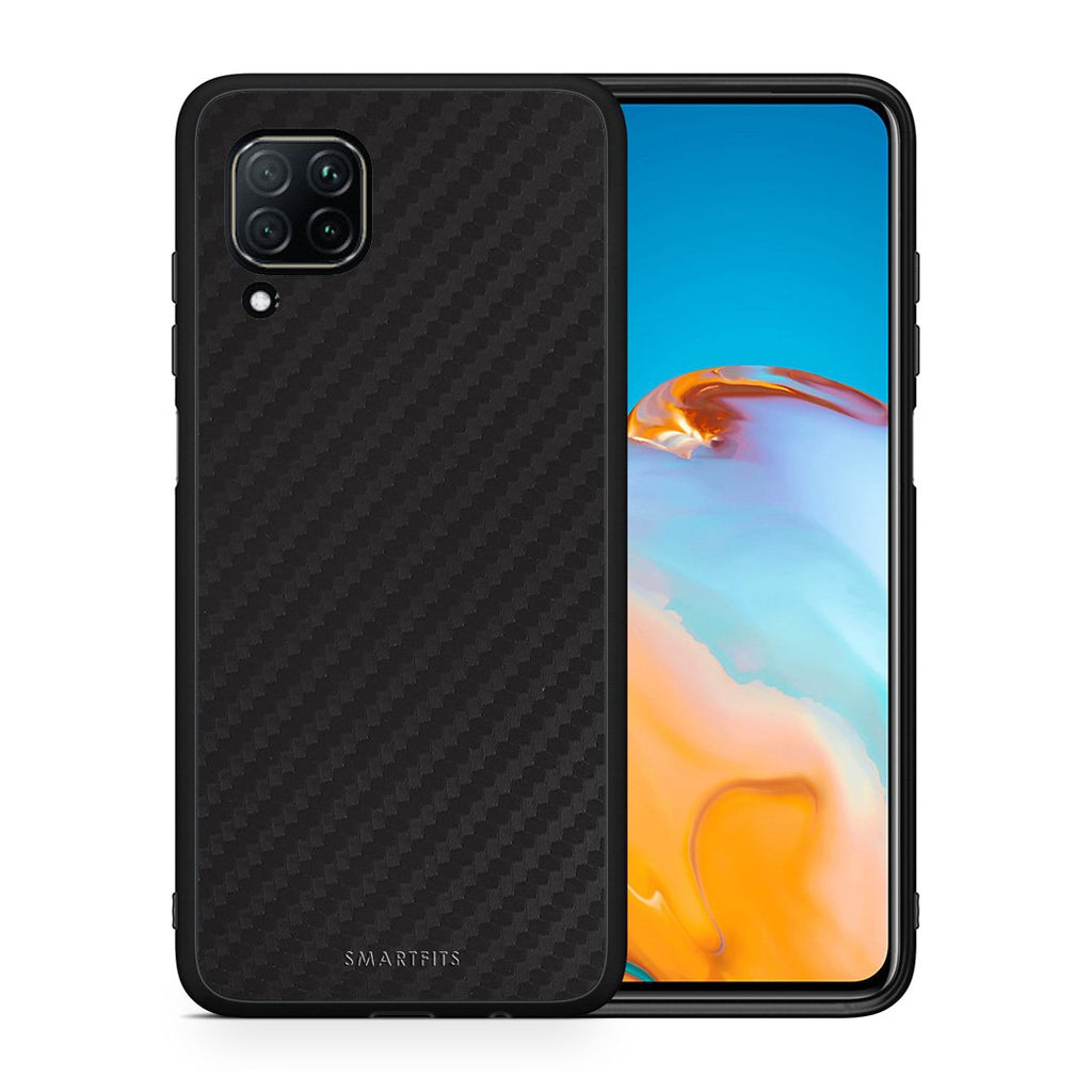 0 - Huawei P40 Lite  Black Carbon case, cover, bumper
