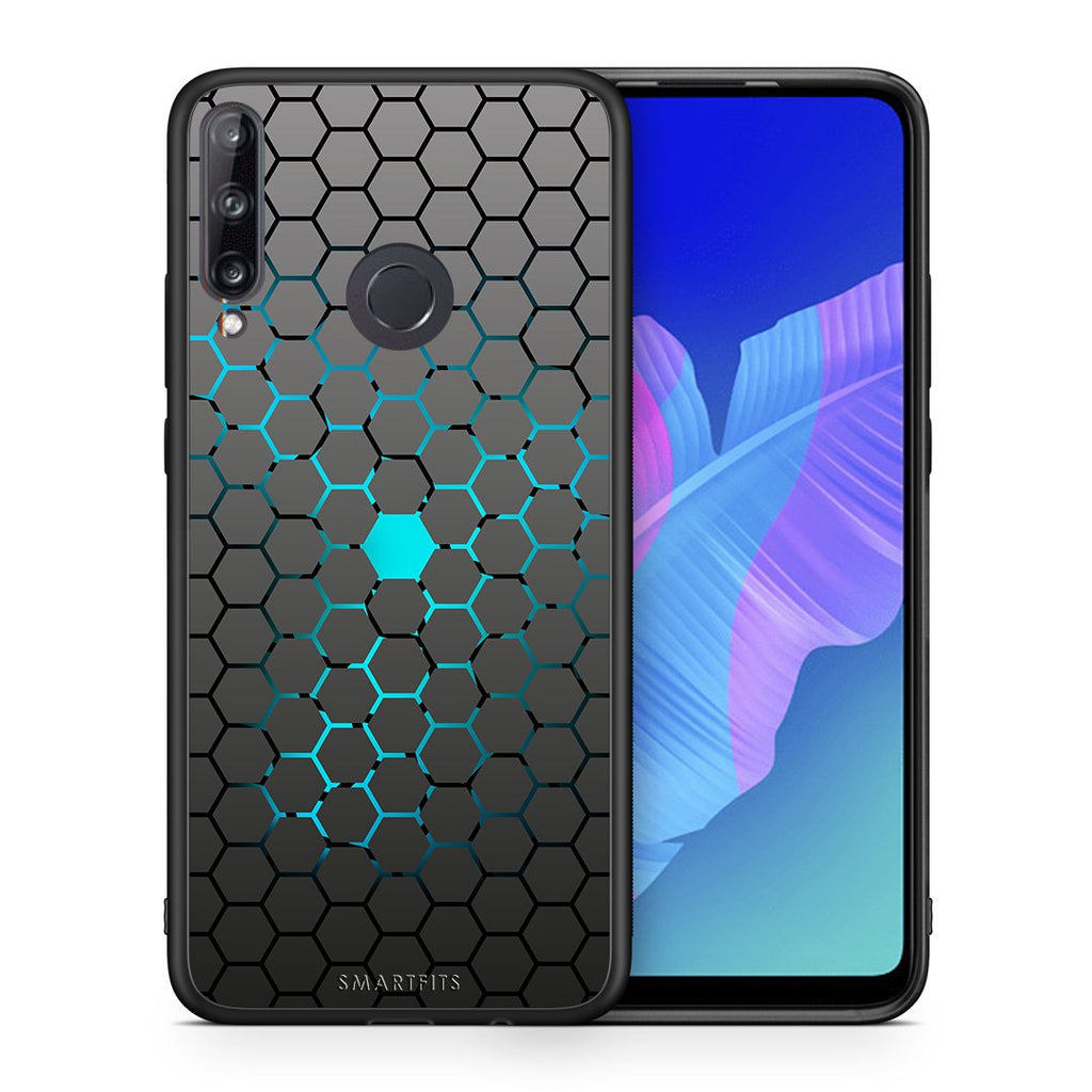 40 - Huawei P40 Lite E  Hexagonal Geometric case, cover, bumper