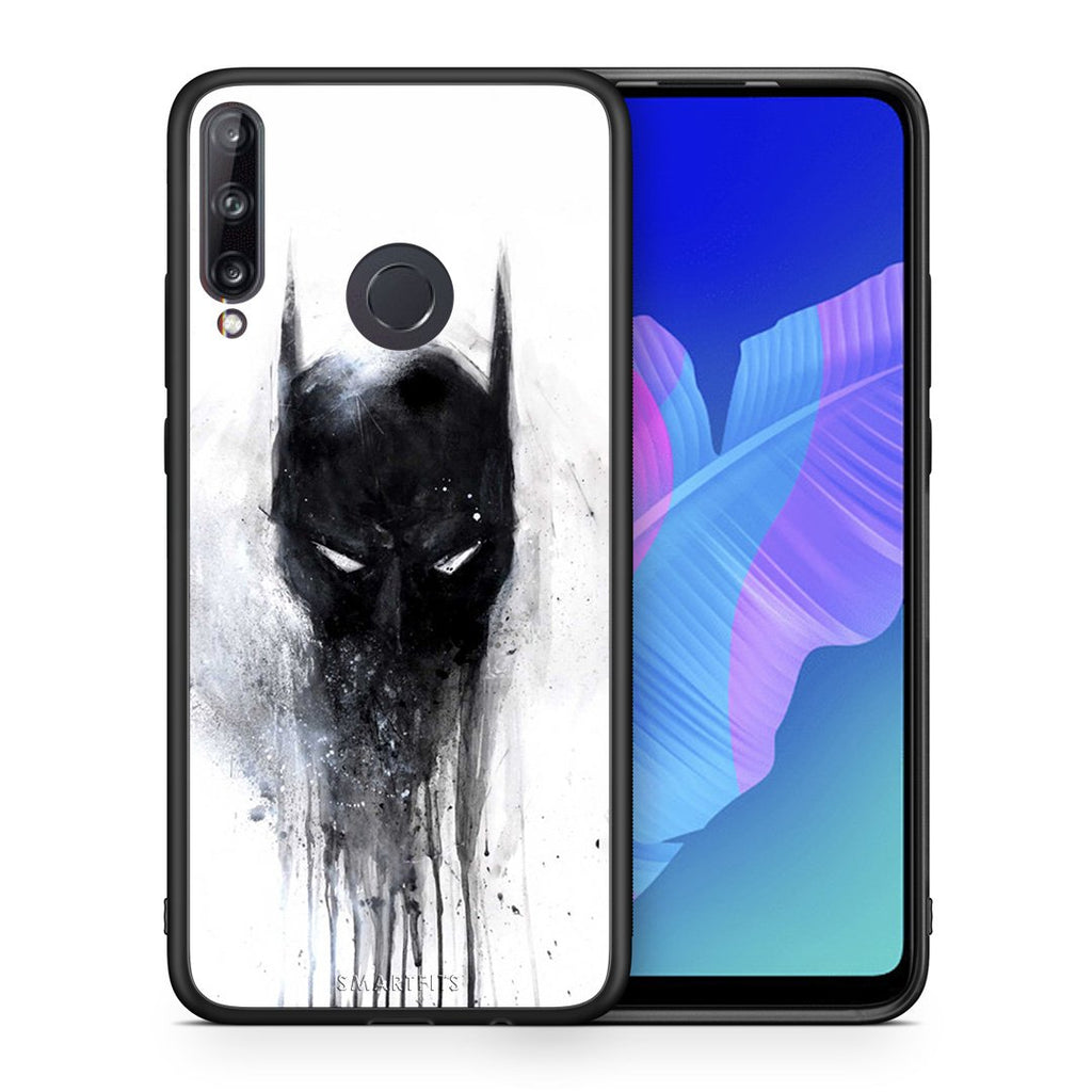 4 - Huawei P40 Lite E Paint Bat Hero case, cover, bumper