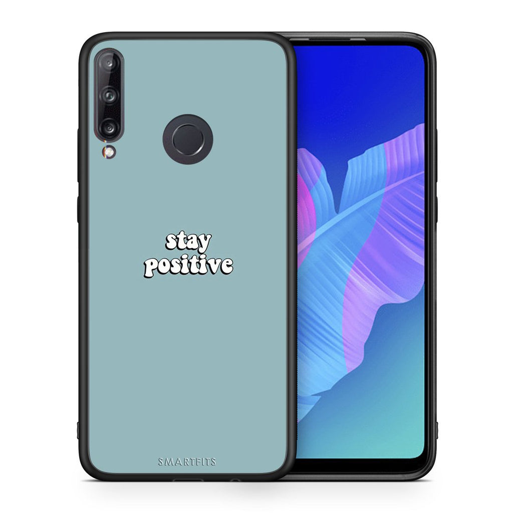 4 - Huawei P40 Lite E Positive Text case, cover, bumper