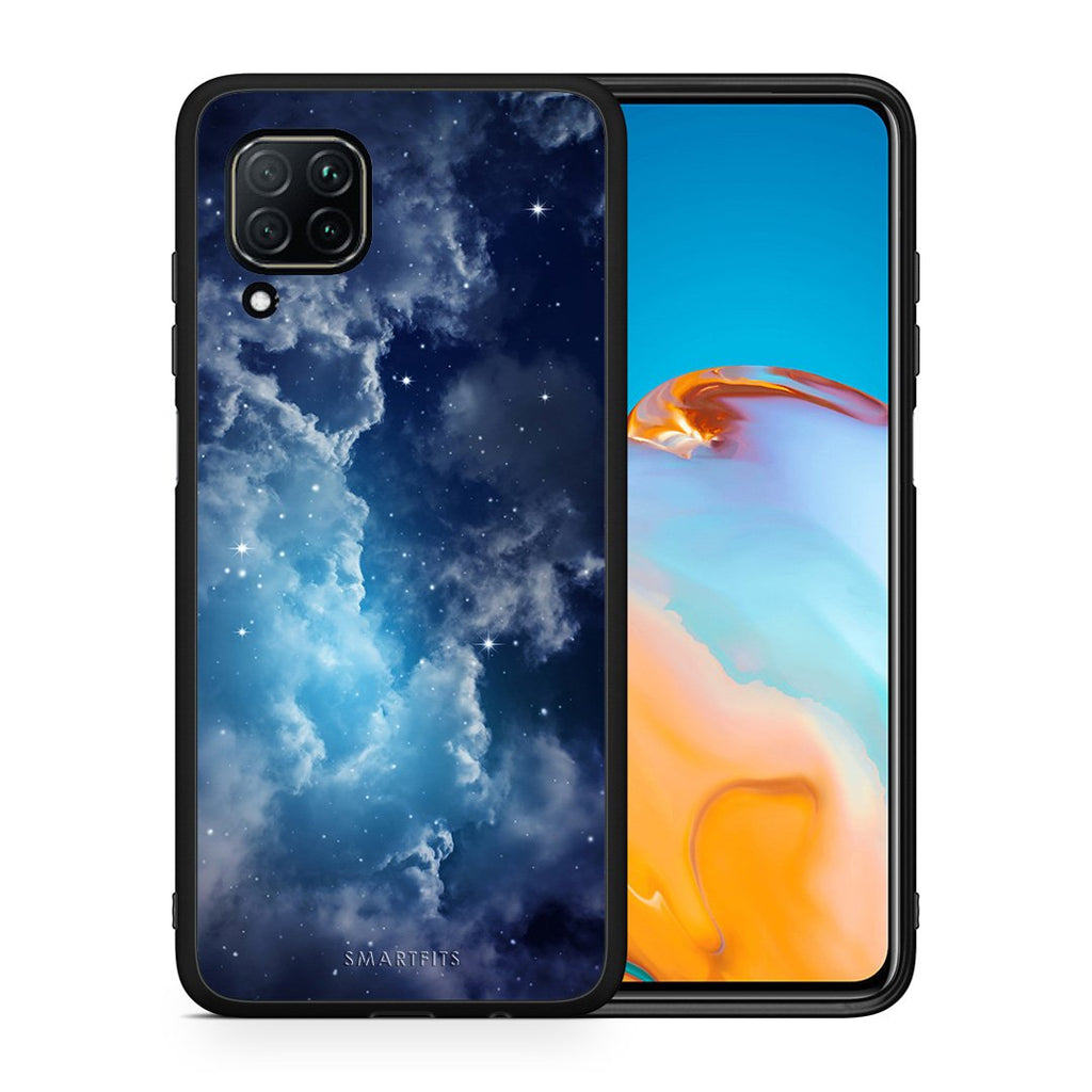 104 - Huawei P40 Lite  Blue Sky Galaxy case, cover, bumper