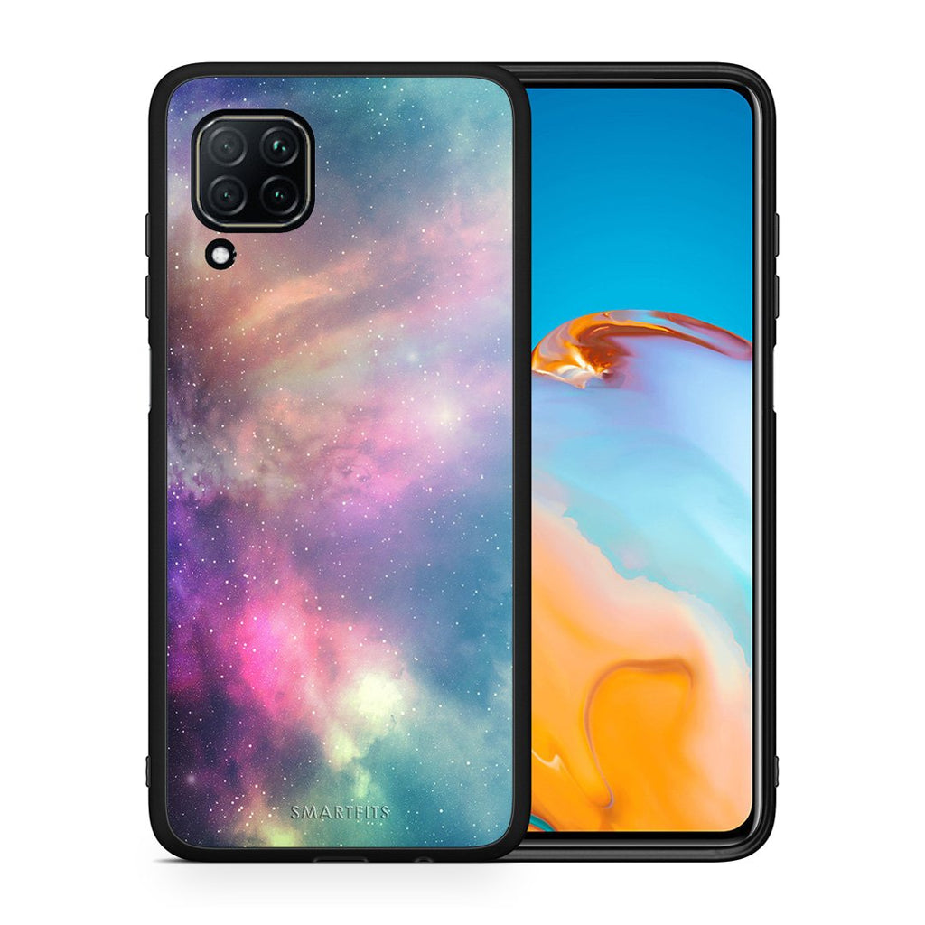 105 - Huawei P40 Lite  Rainbow Galaxy case, cover, bumper