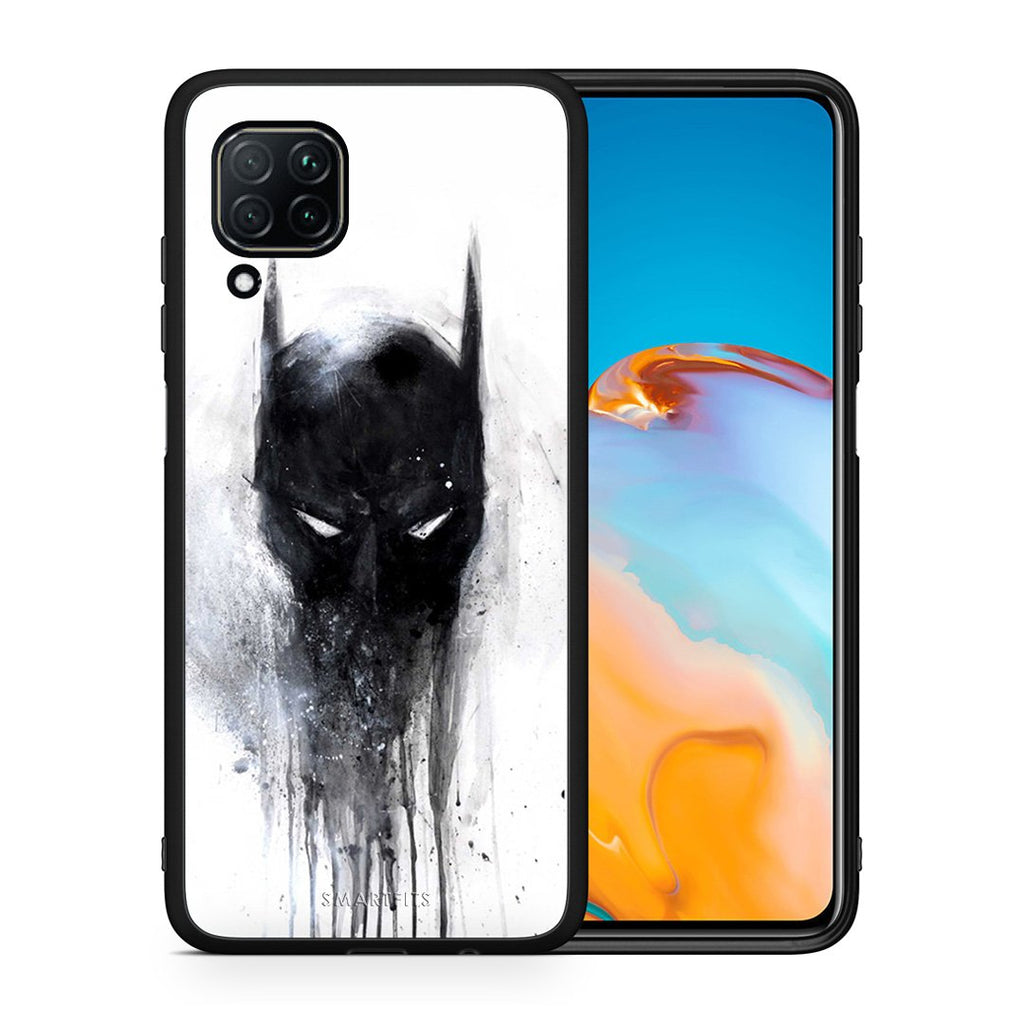 4 - Huawei P40 Lite Paint Bat Hero case, cover, bumper