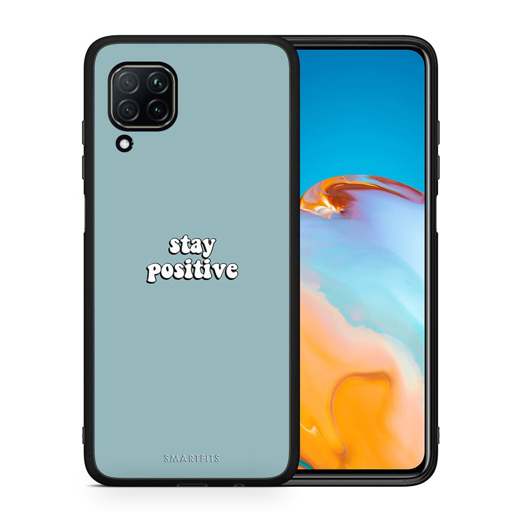 4 - Huawei P40 Lite Positive Text case, cover, bumper