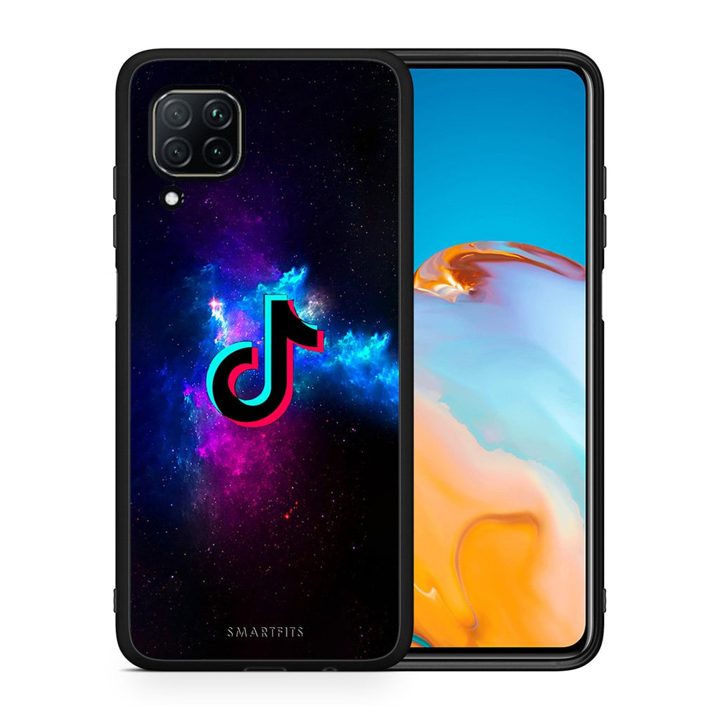 4 - Huawei P40 Lite TikTok Text case, cover, bumper